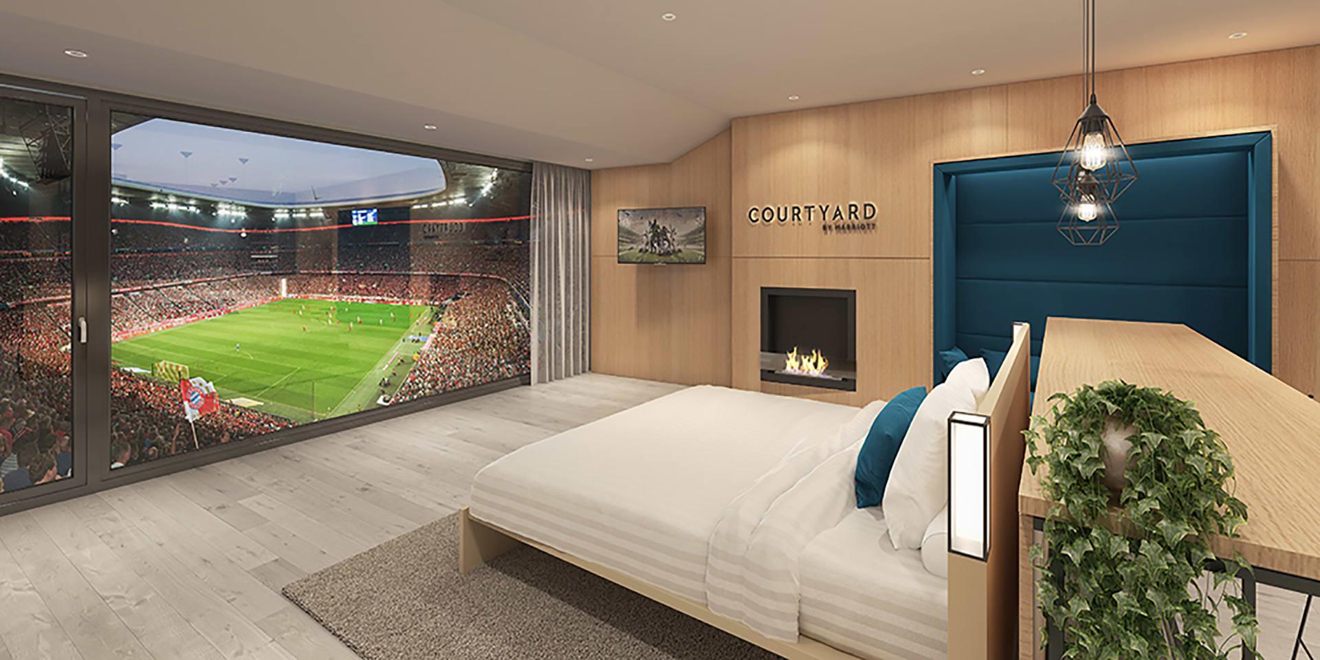"""بايرن ميونخ يوفر لمشجعيه فرصة مشاهدة المباريات من """"السرير"""""""
