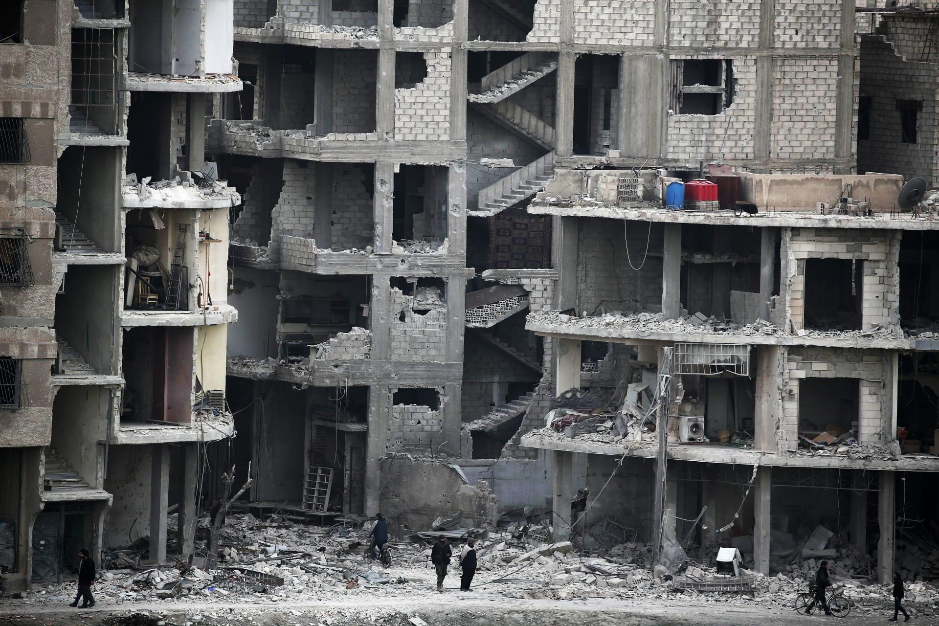 الأمين العام للأمم المتحدة حول الغوطة الشرقية: جحيم على الأرض