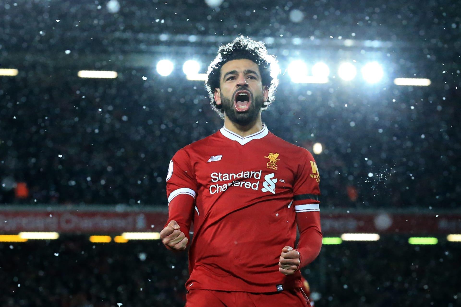 """محمد صلاح أول عربي يسجل """"سوبر هاتريك"""" في الدوري الإنجليزي ويتصدر هدافي أوروبا"""