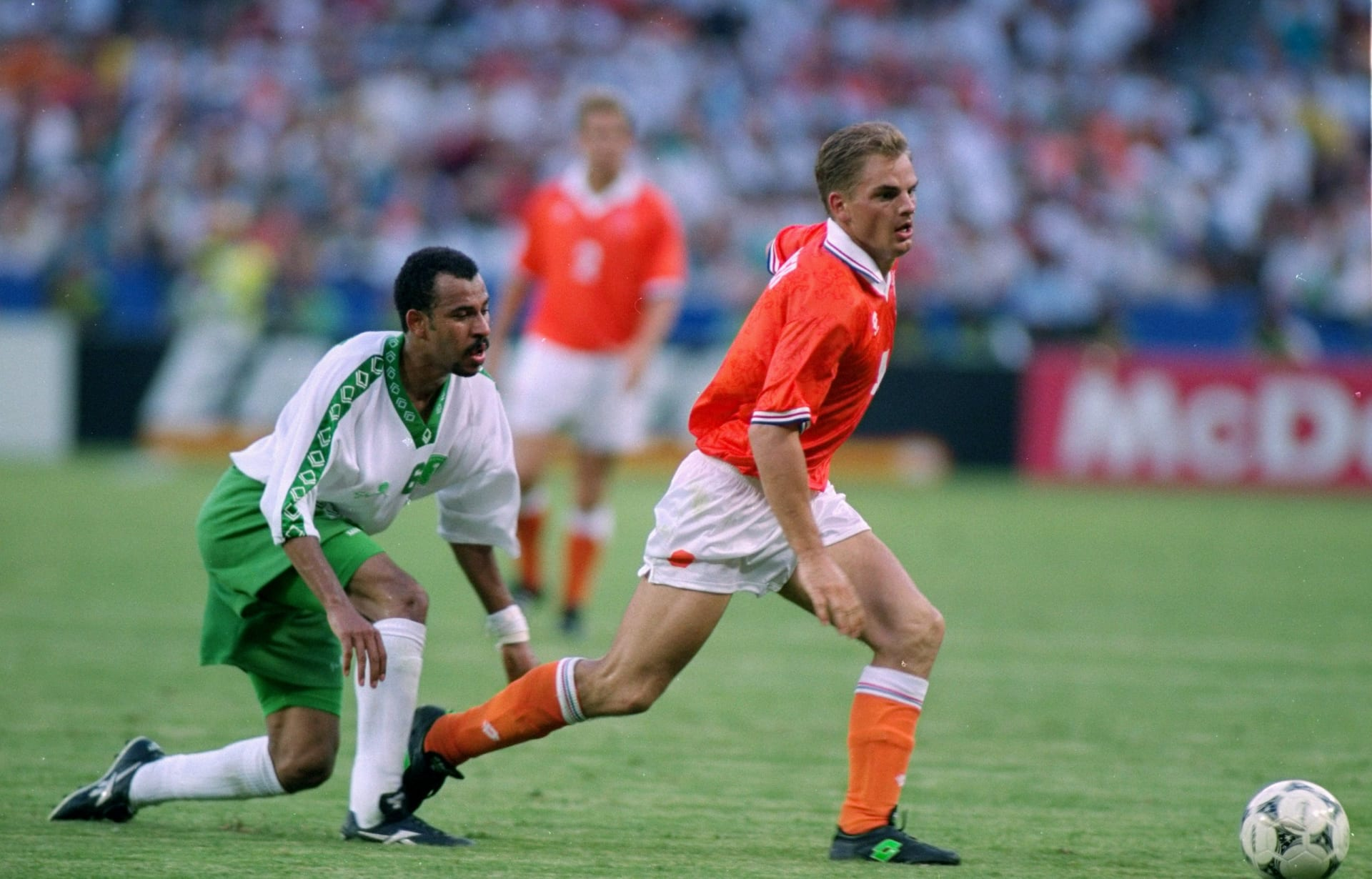 العرب في المونديال: من هو صاحب أول هدف سعودي في كأس العالم؟