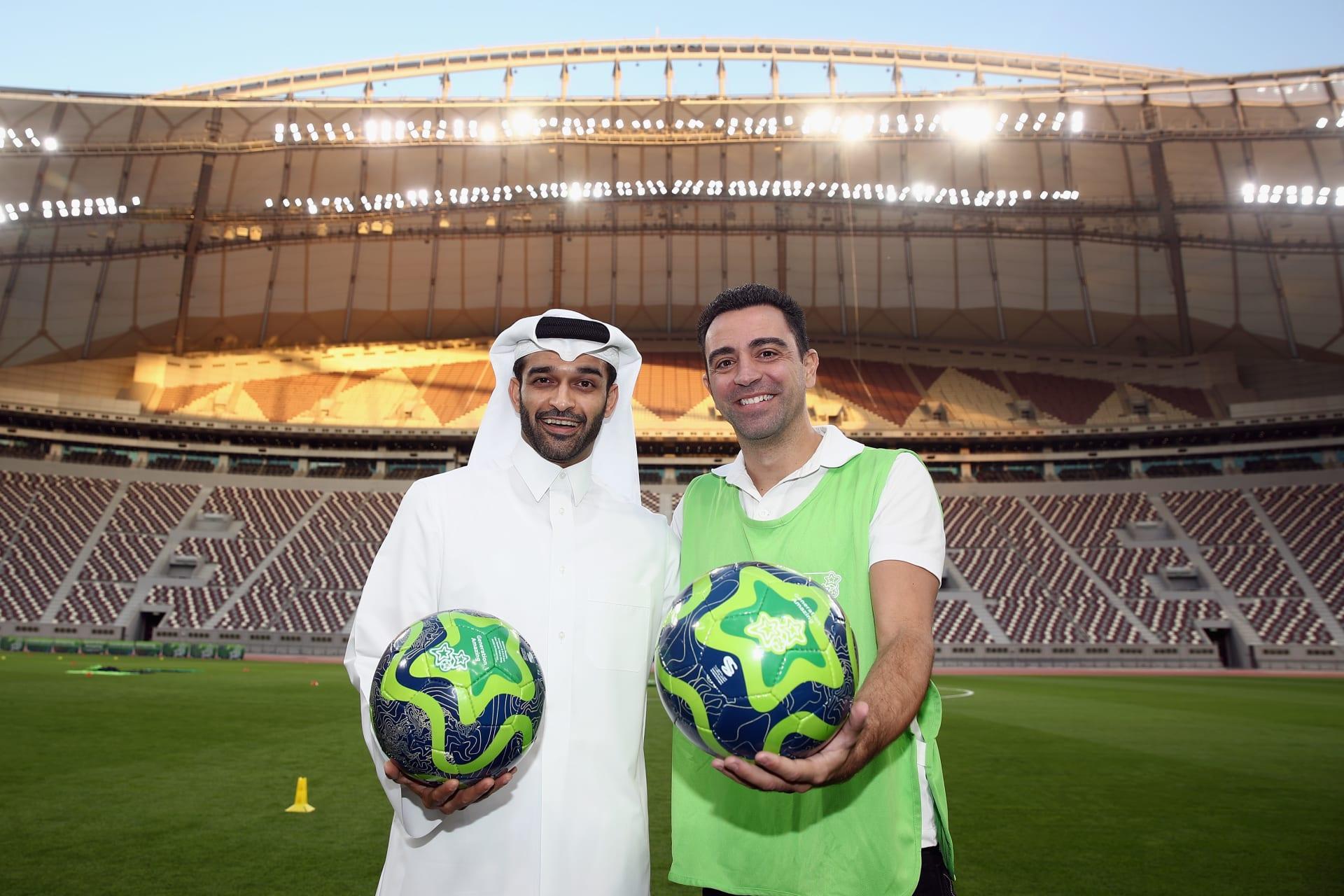 تشافي هيرنانديز أول سفير عالمي لكأس العالم 2022 في قطر