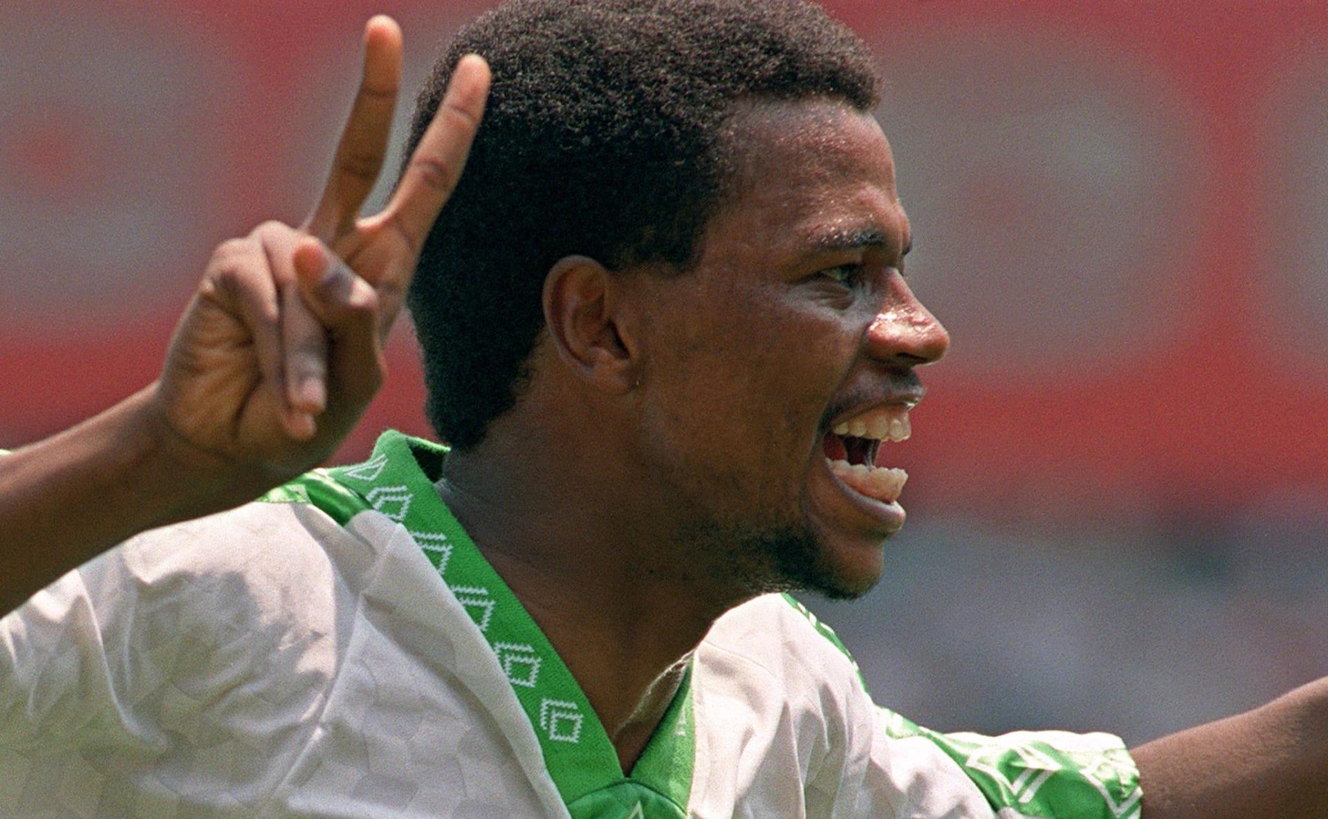 """""""مارادونا السعودية"""" يسترجع ذكرياته قبل مواجهة الأخضر وبلجيكا"""