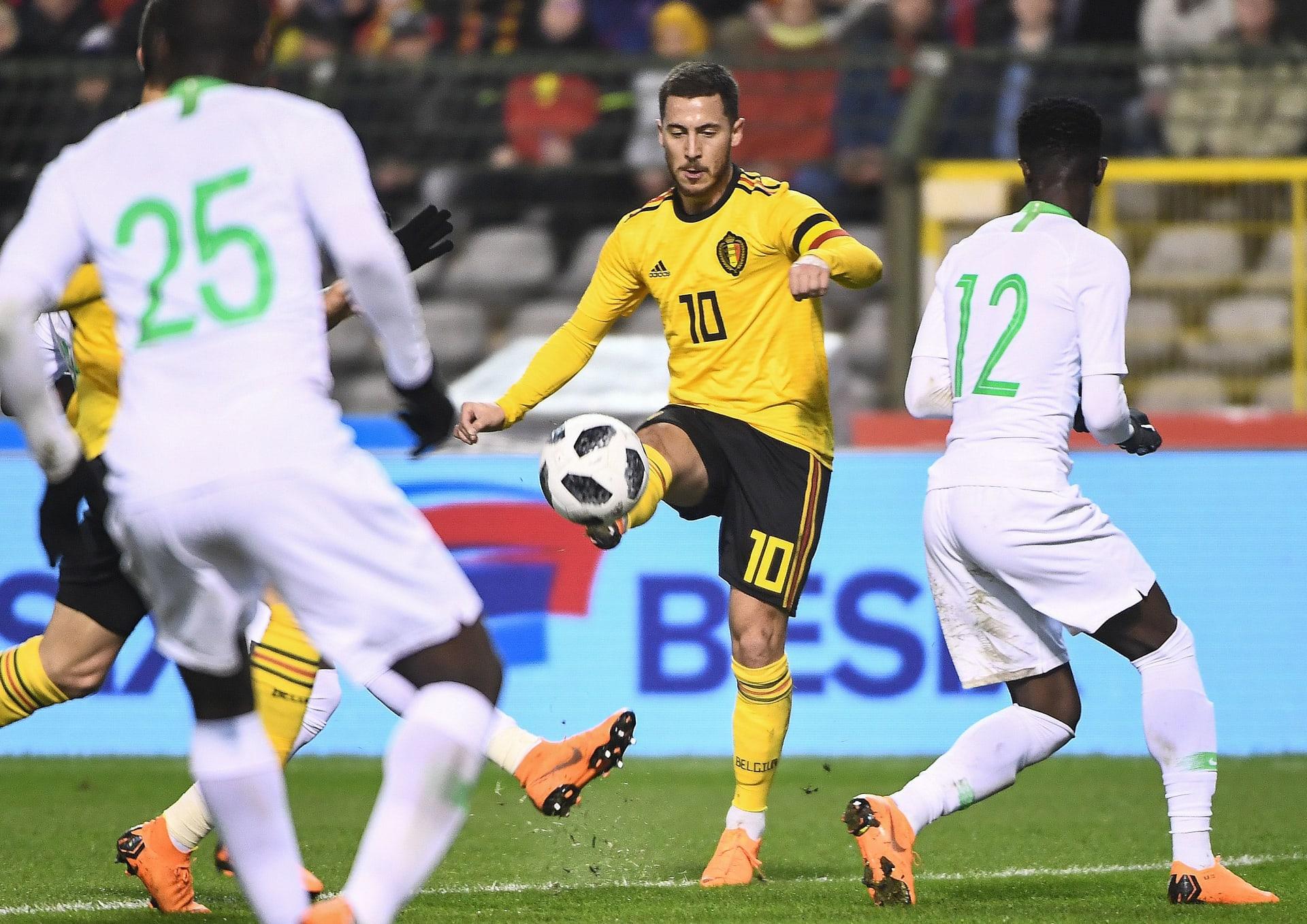 السعودية تتلقى خسارة موجعة أمام بلجيكا استعدادا لكأس العالم