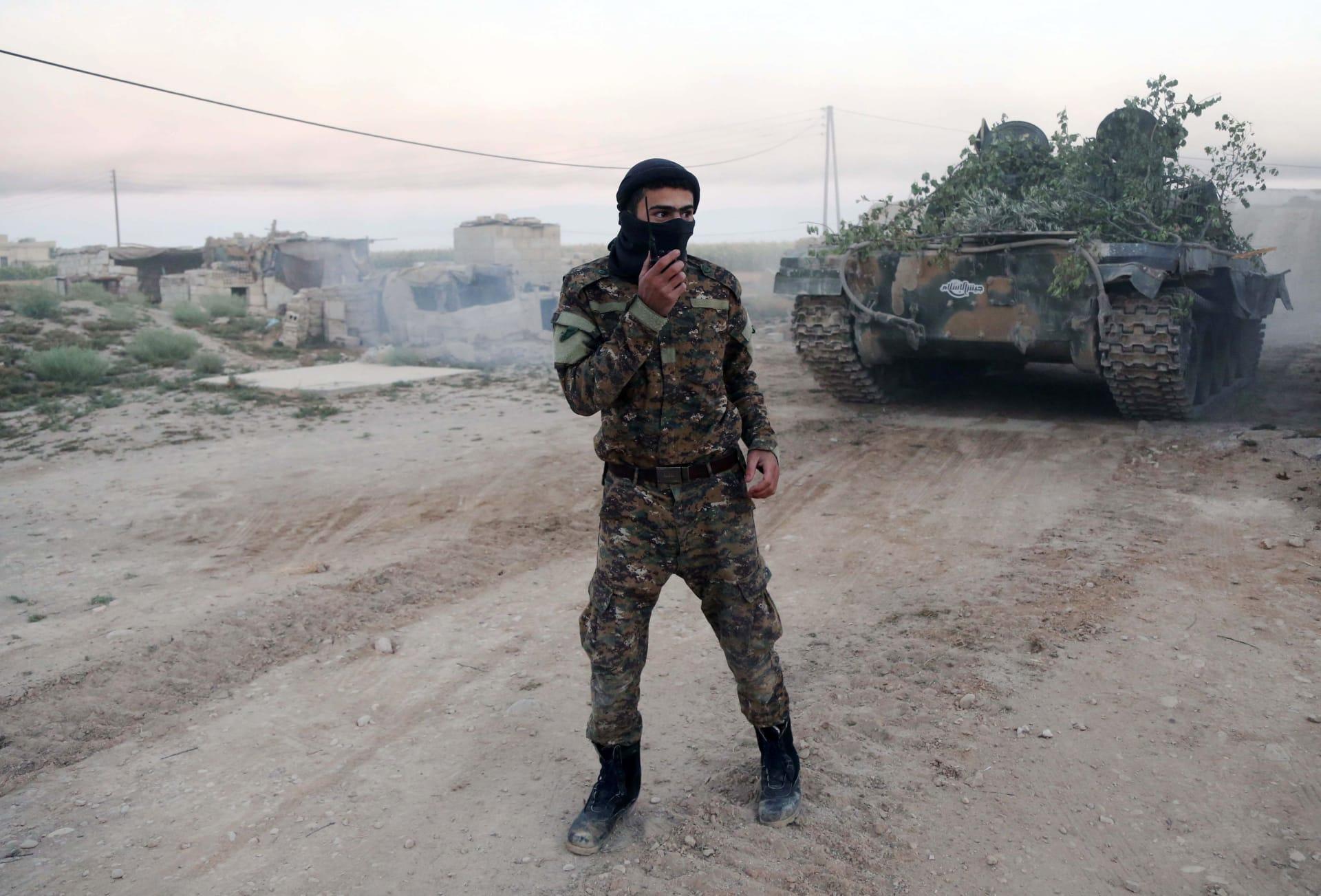 """مصدر سوري: اتفاق يقضي بخروج """"جيش الإسلام"""" من الغوطة خلال 48 ساعة"""
