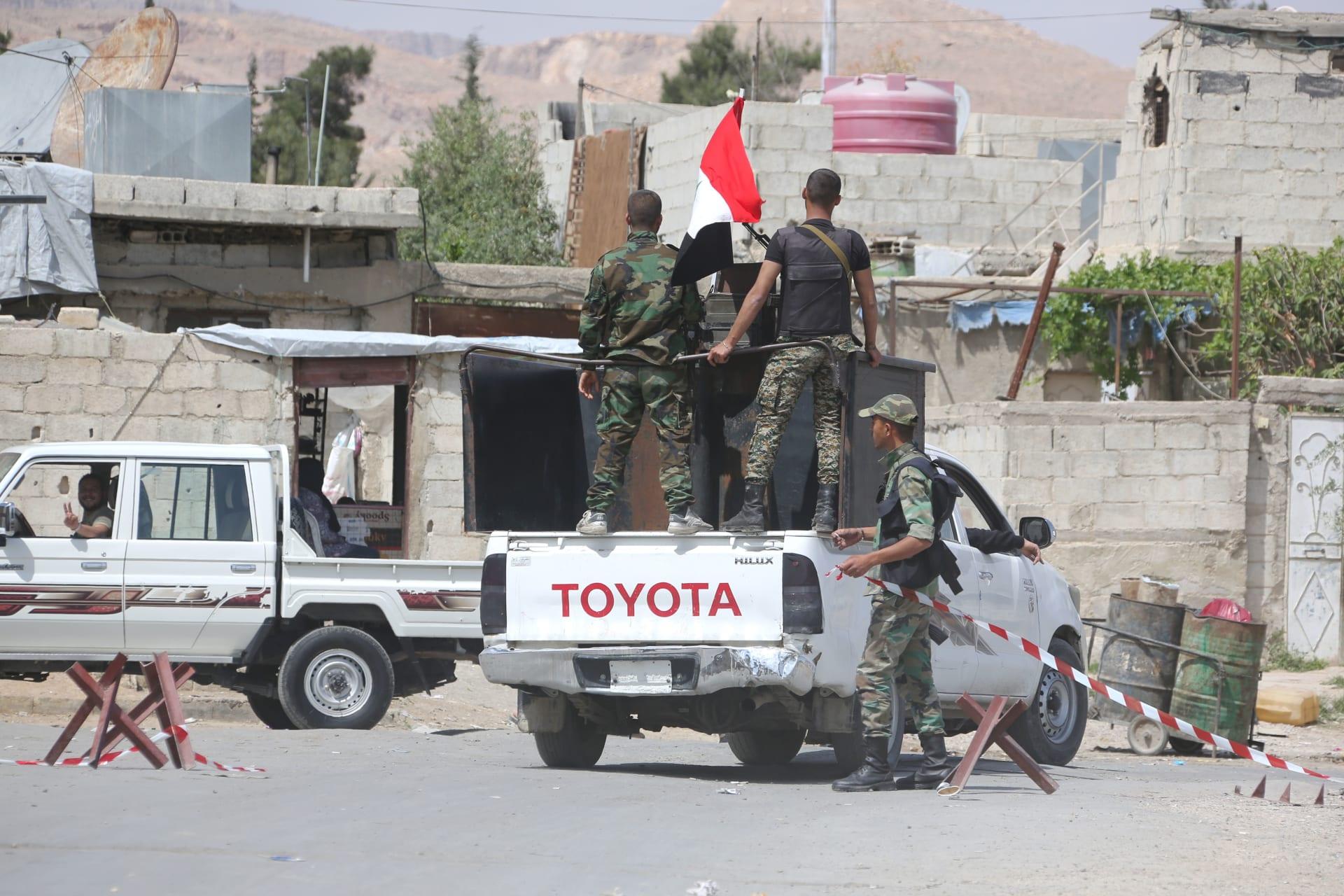"""أمريكا وبريطانيا: كيماوي دوما """"يحمل علامات"""" هجمات سابقة للنظام السوري"""