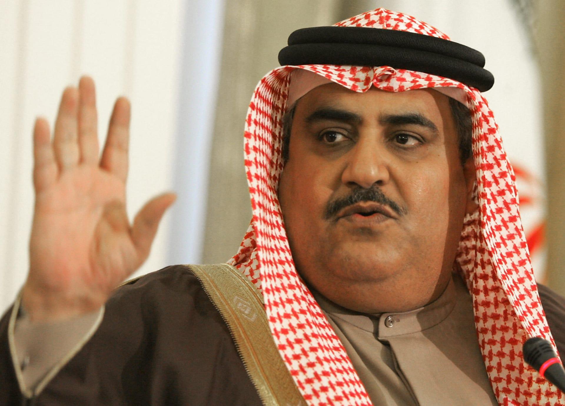وزير خارجية البحرين: إساءة إعلام قطر لخادم الحرمين يؤكد ألا مكان لها
