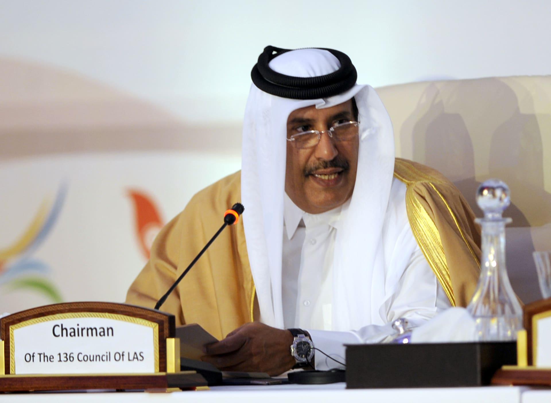 رئيس وزراء قطر السابق يوجه نداء لقادة دول مجلس التعاون الخليجي