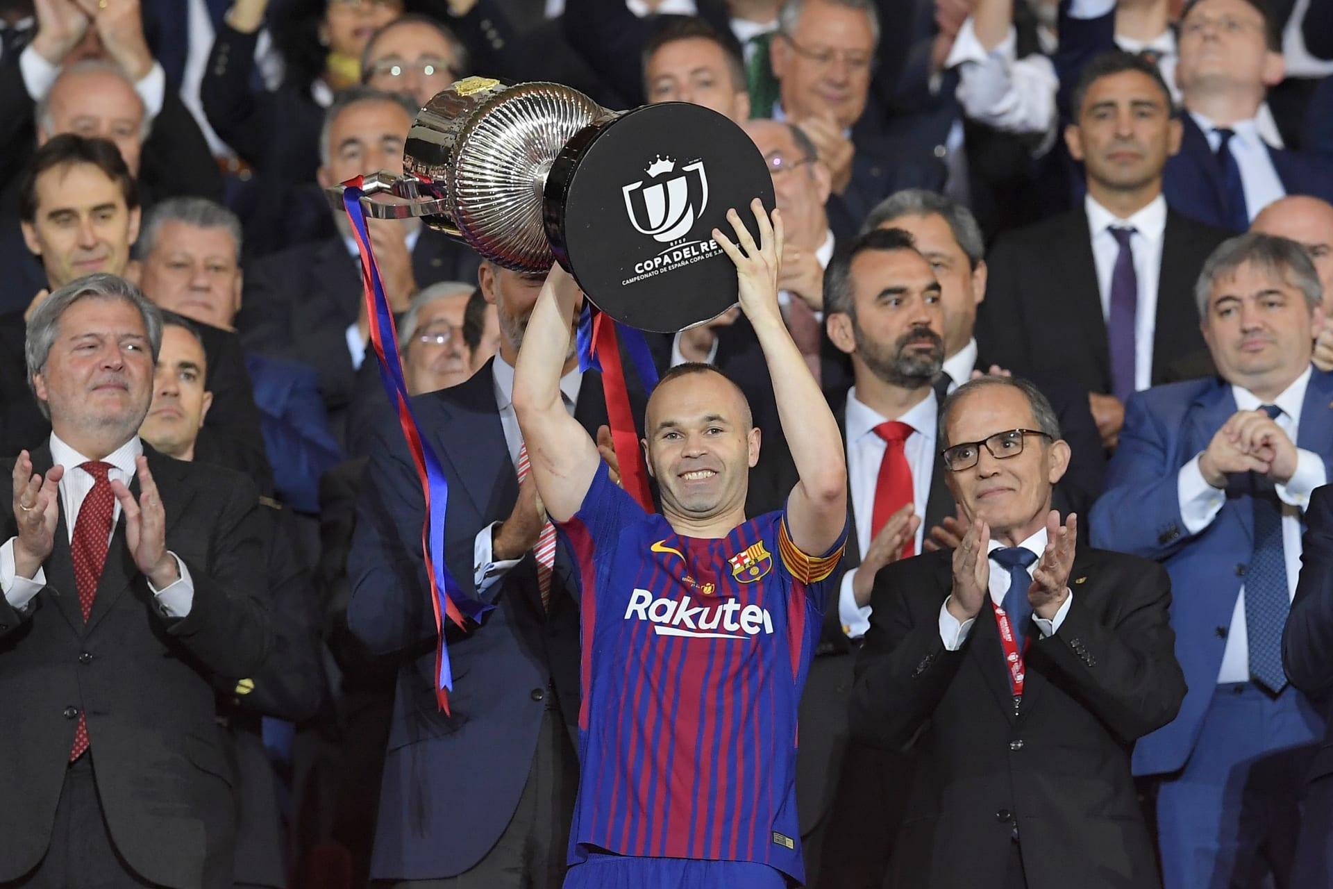 برشلونة يرفع اللقب رقم 30 لكأس الملك في مدريد