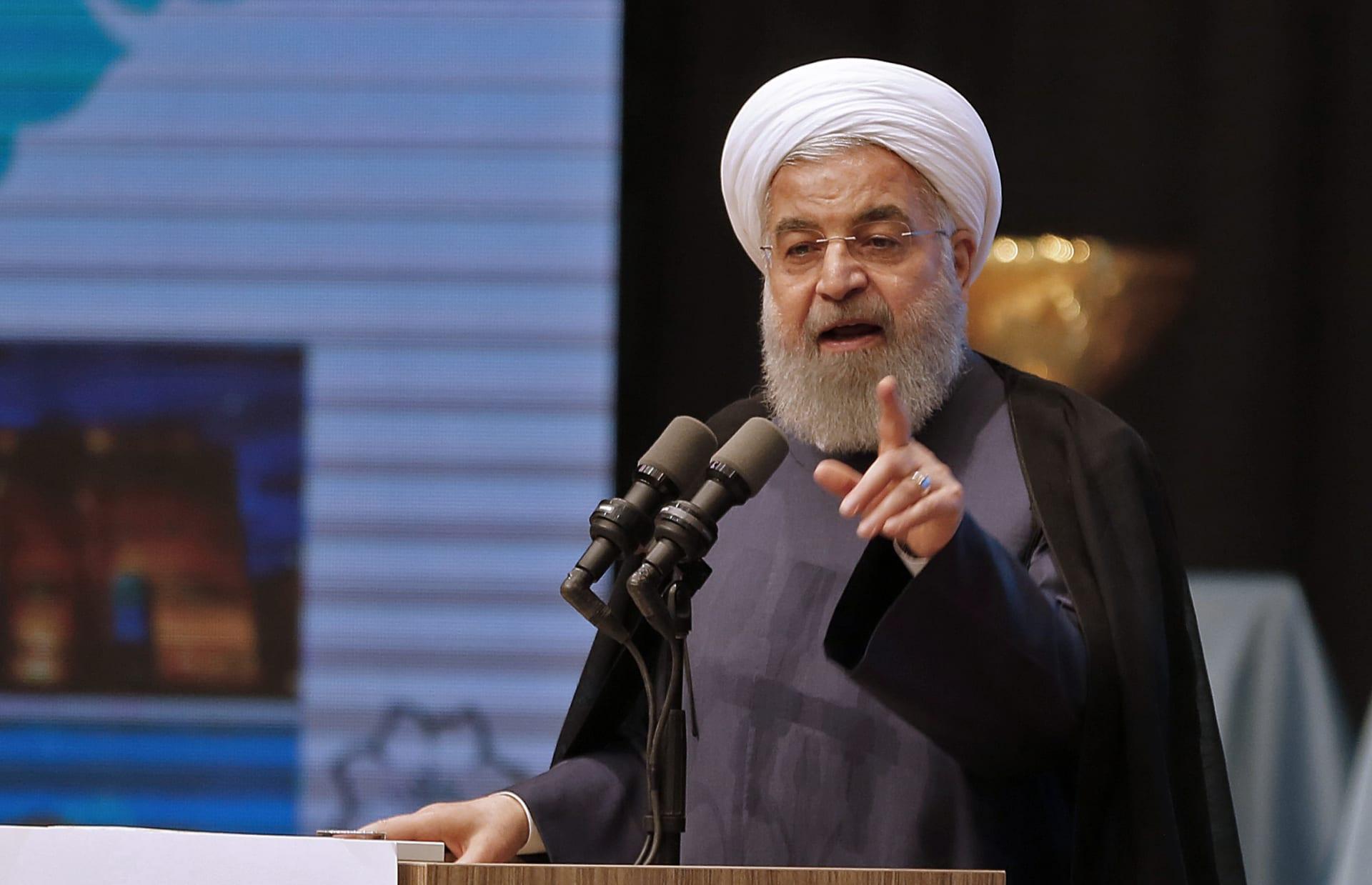 روحاني يرد على قرار ترامب بانسحاب أمريكا من الاتفاق النووي