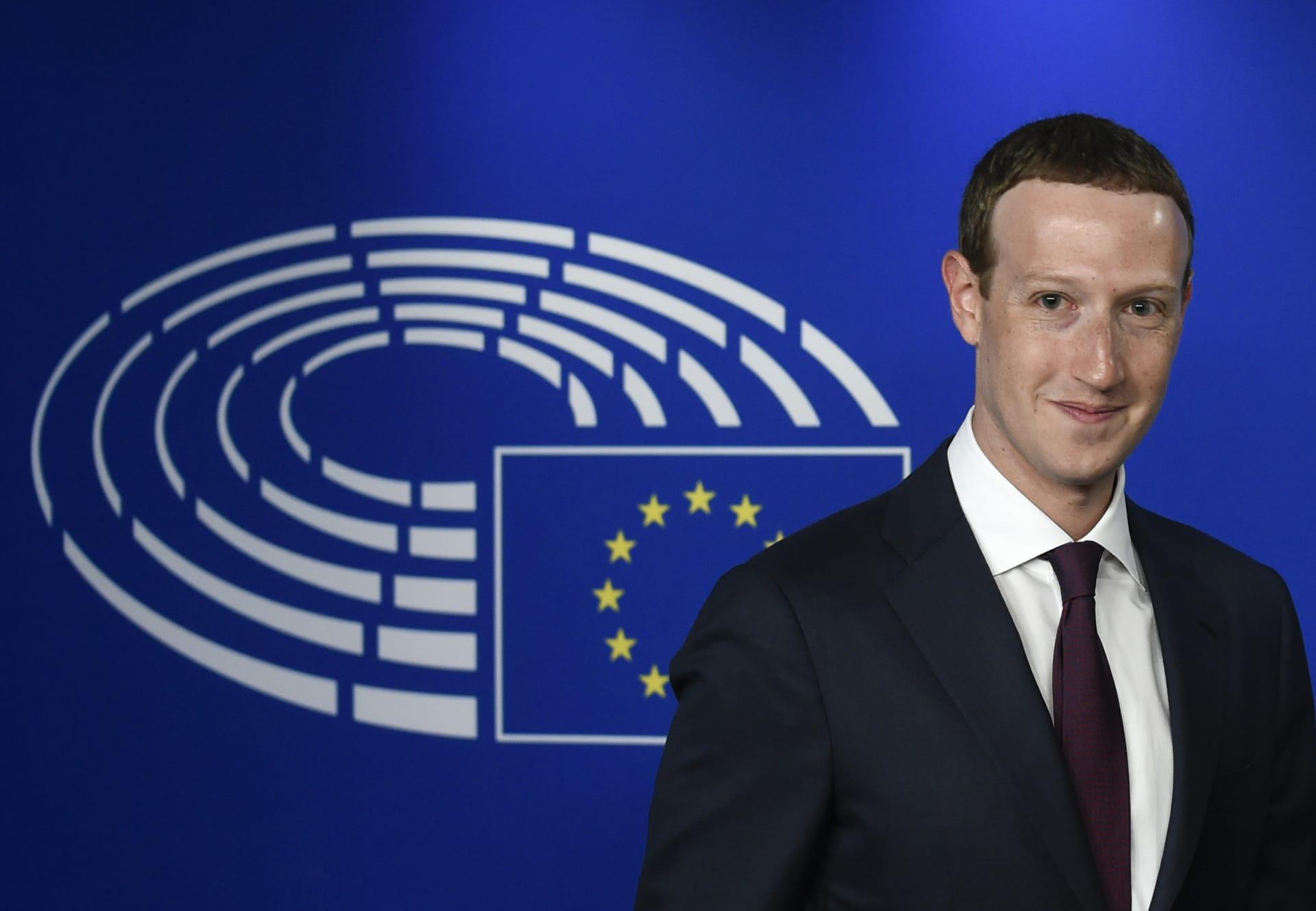 مارك زوكربيرغ يعتذر أمام البرلمان الأوروبي.. ويؤكد: حماية الناس أهم من الربح