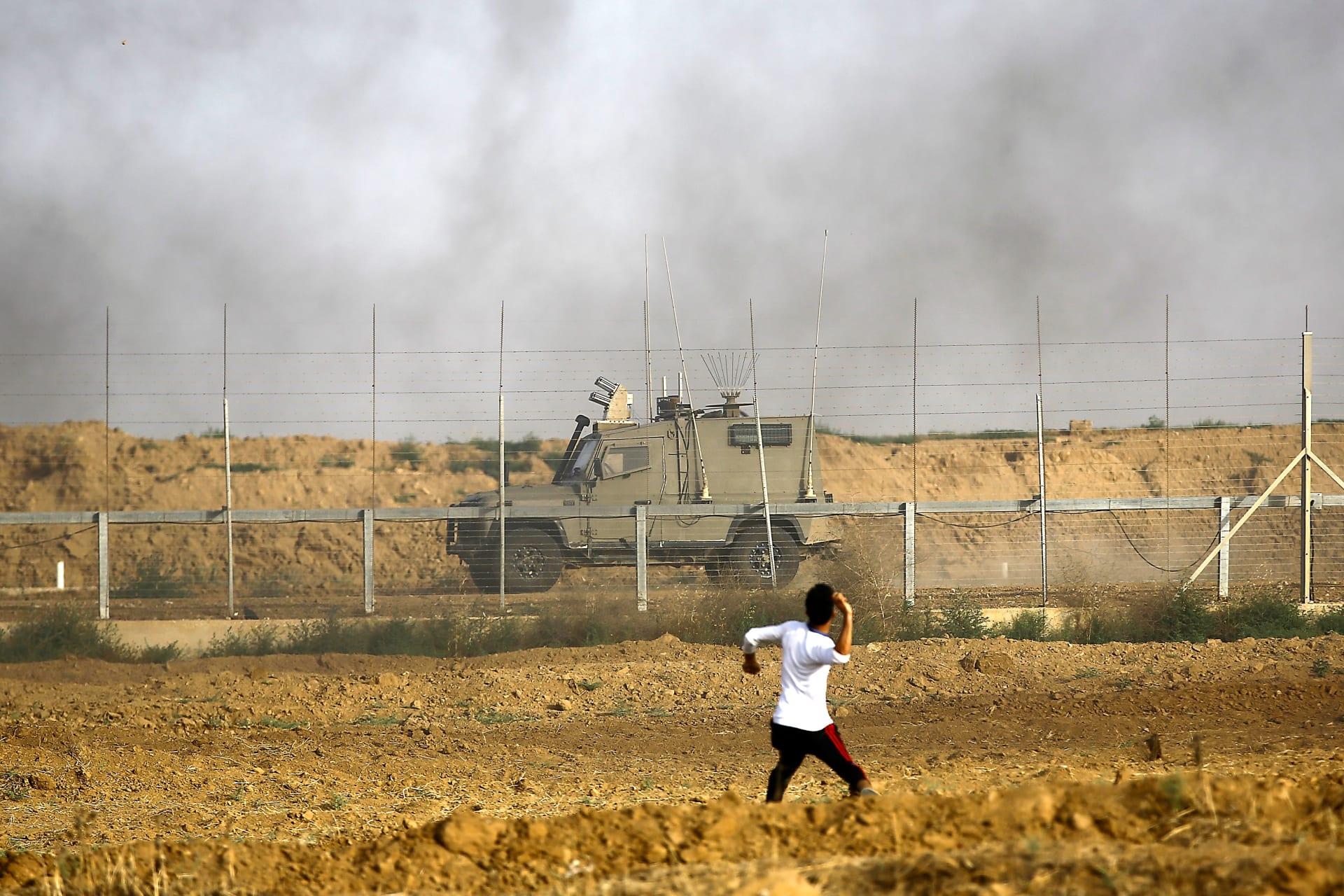 مقتل شابين فلسطينيين في قصف إسرائيلي جنوب غزة