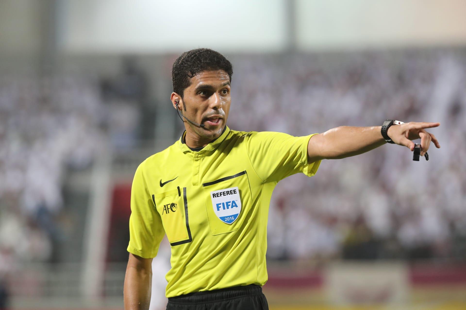 فيفا يقرر استبعاد الحكم السعودي فهد المرداسي من إدارة مباريات كأس العالم