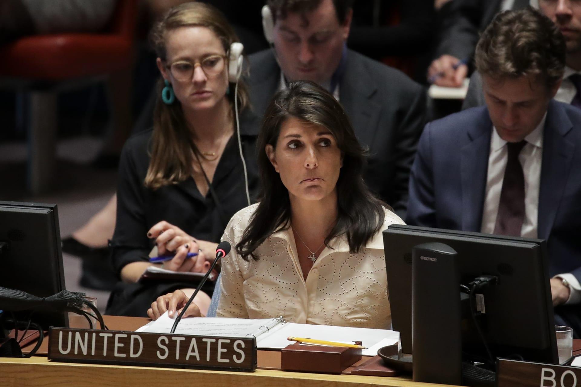 واشنطن تهدد باستخدام الفيتو ضد مشروع قرار لحماية الفلسطينيين
