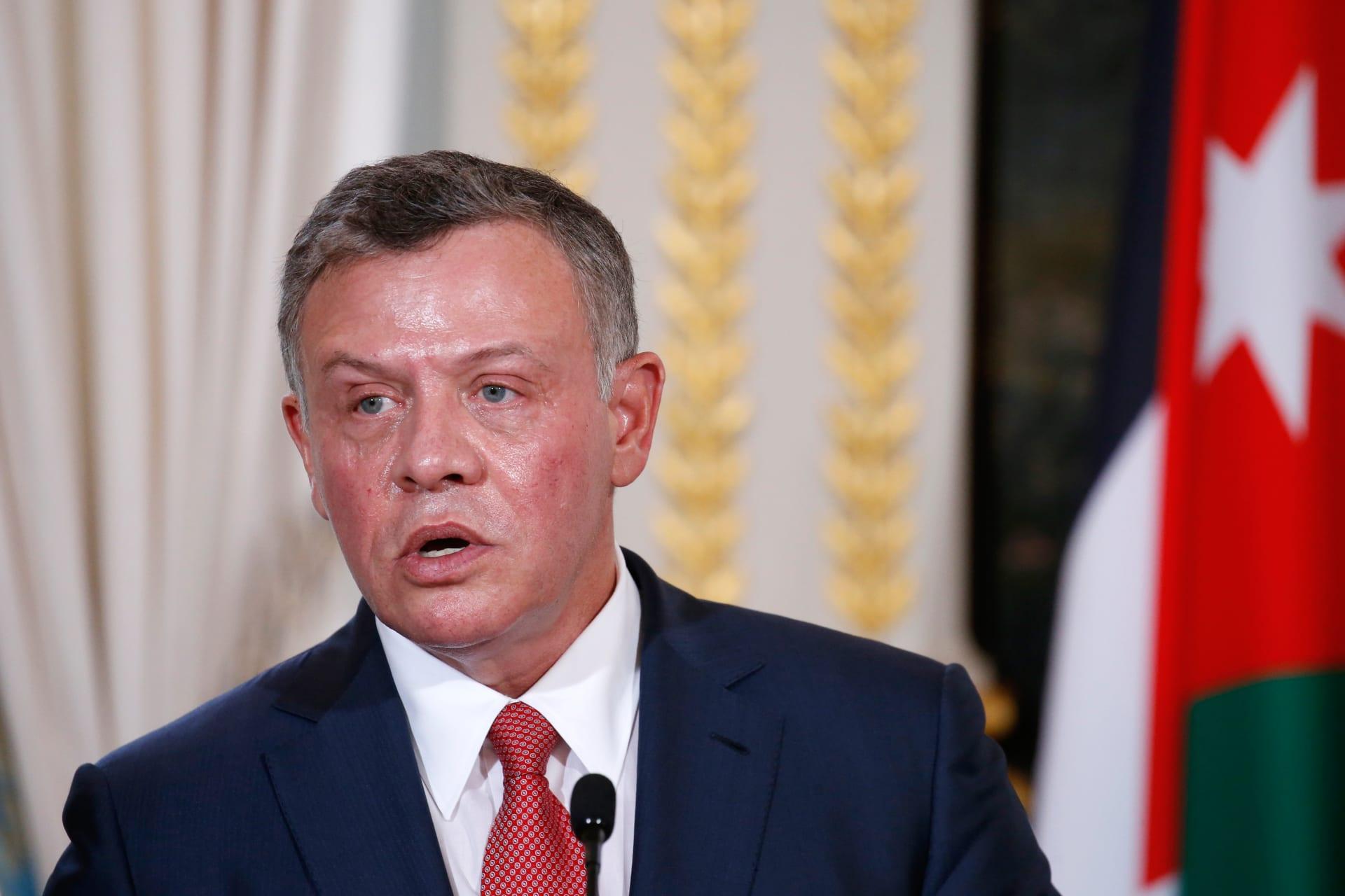 """العاهل الأردني: مشروع قانون ضريبة الدخل """"جدلي"""".. ونحن أمام مفترق طرق"""
