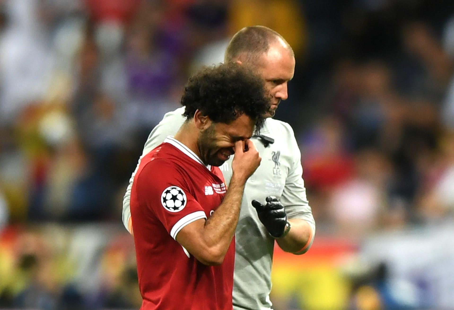 محمد صلاح يكشف عن مشاعره بعد الإصابة.. ويتحدث عن كأس العالم