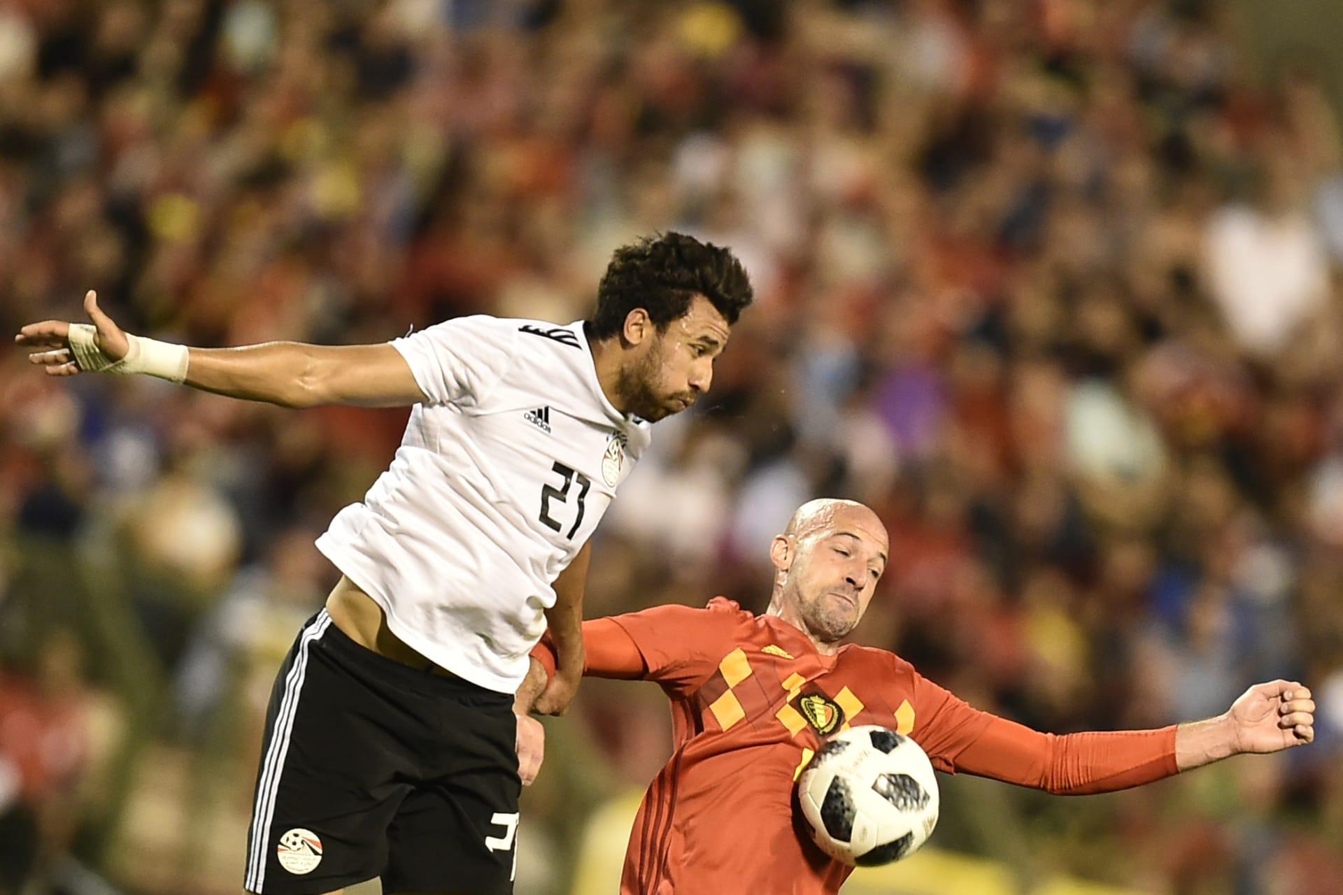 مصر تخسر أمام بلجيكا في آخر التجارب الودية قبل المونديال