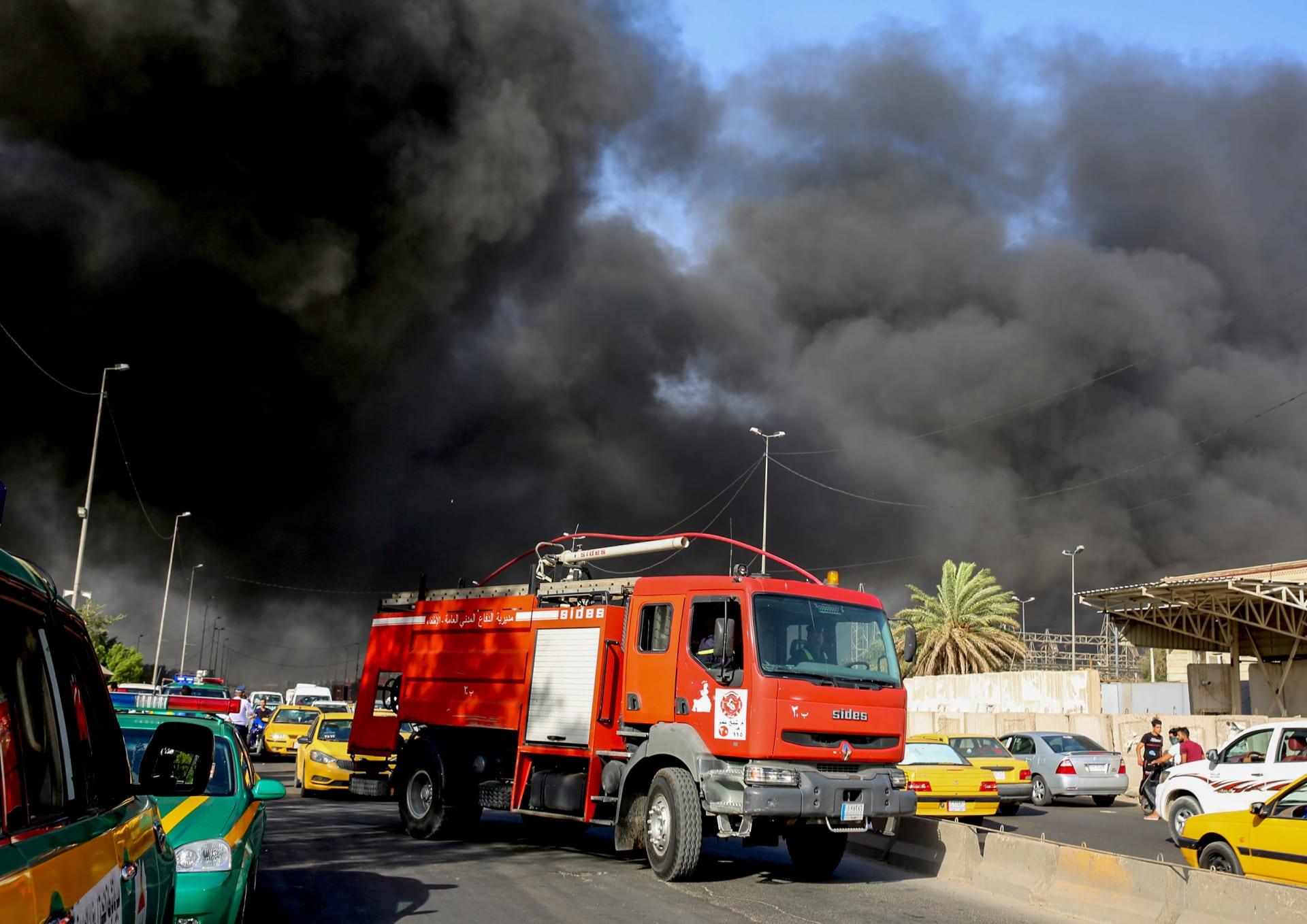 القضاء العراقي يعلن توقيف 4 متهمين بحريق مفوضية الانتخابات