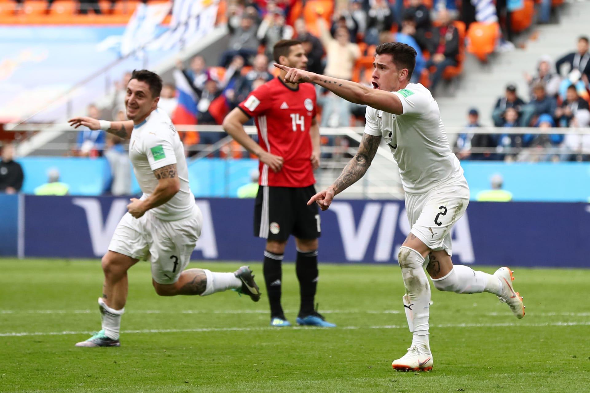 رغم الأداء البطولي.. مصر تخسر بهدف قاتل أمام الأوروغواي