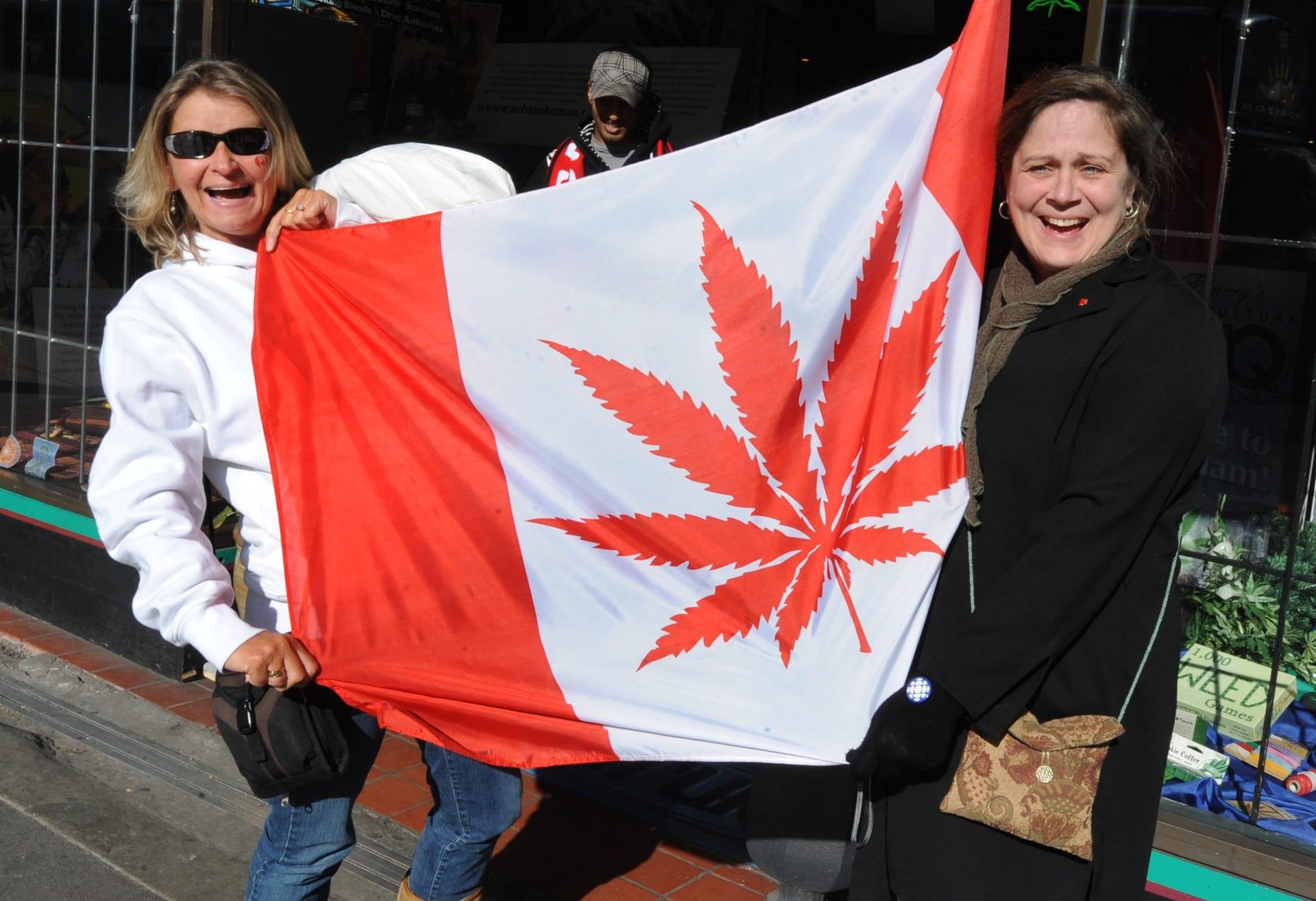 """بعد أوروغواي.. كندا تسمح بالاستخدام الترفيهي لـ""""الماريغوانا"""""""
