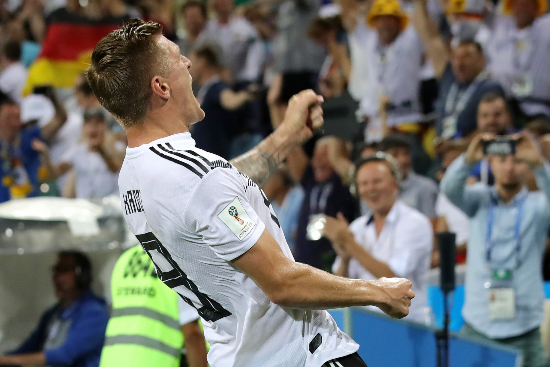كروس ينقذ ألمانيا من مأزق السويد ويهديها فوزا قاتلا