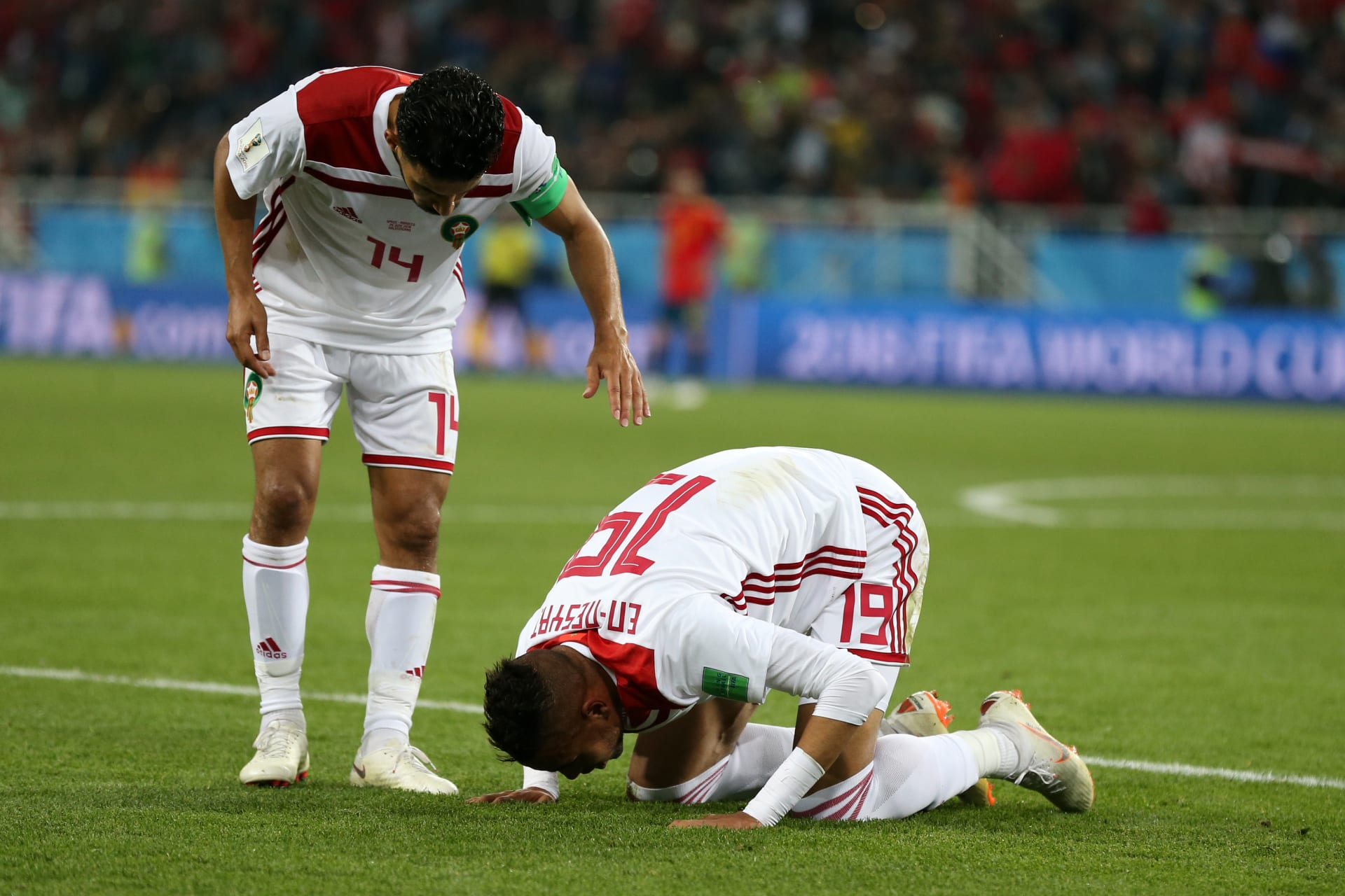 المغرب يدخل التاريخ أمام إسبانيا رغم الخروج من المونديال