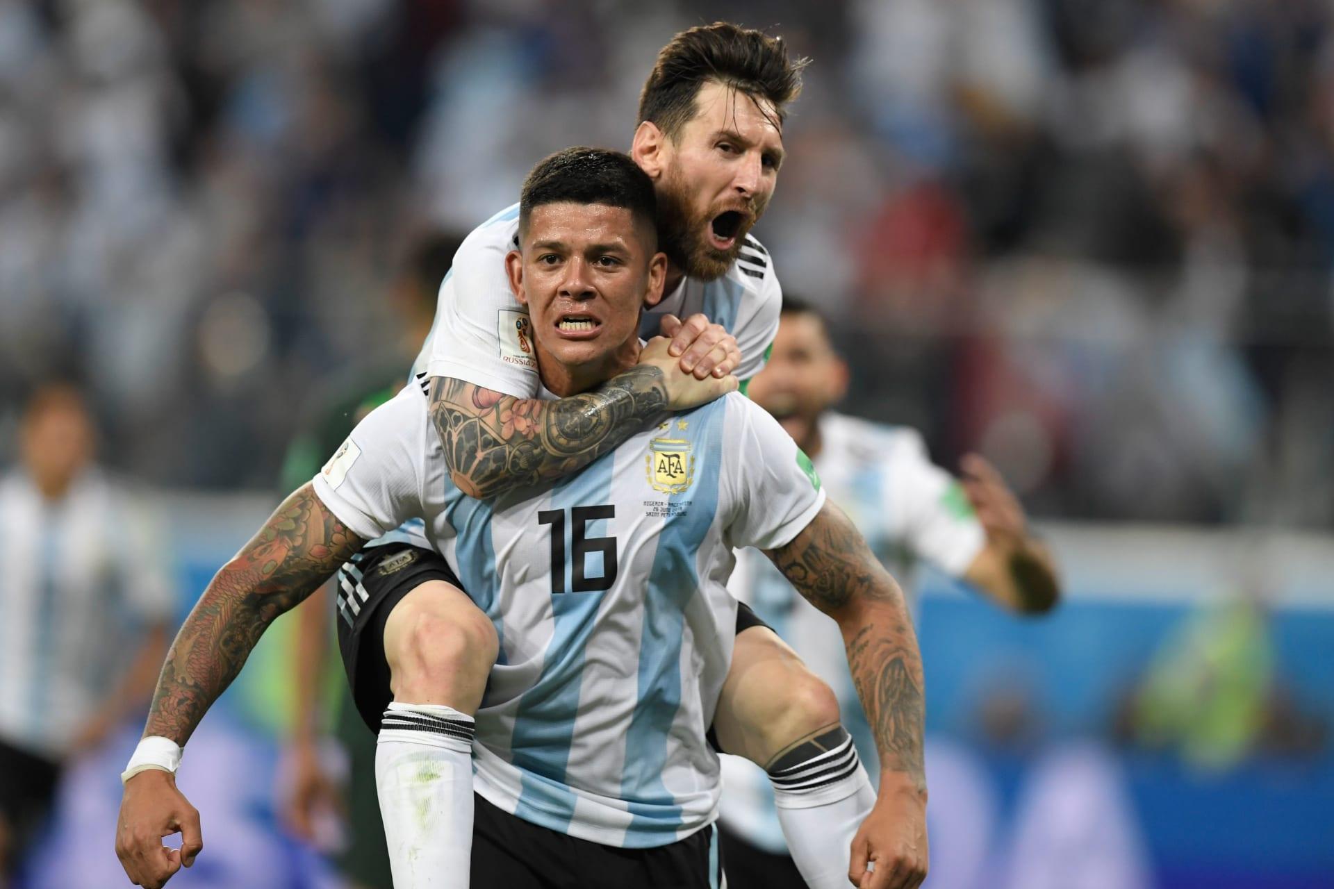 روخو يُحيي الأرجنتين ويعبر بها لدور الـ16 لتضرب موعدا مع فرنسا