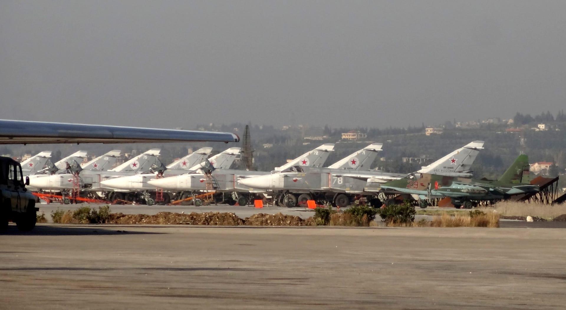"""الجيش الروسي يعلن إسقاط """"طائرات درون"""" قرب قاعدة حميميم"""
