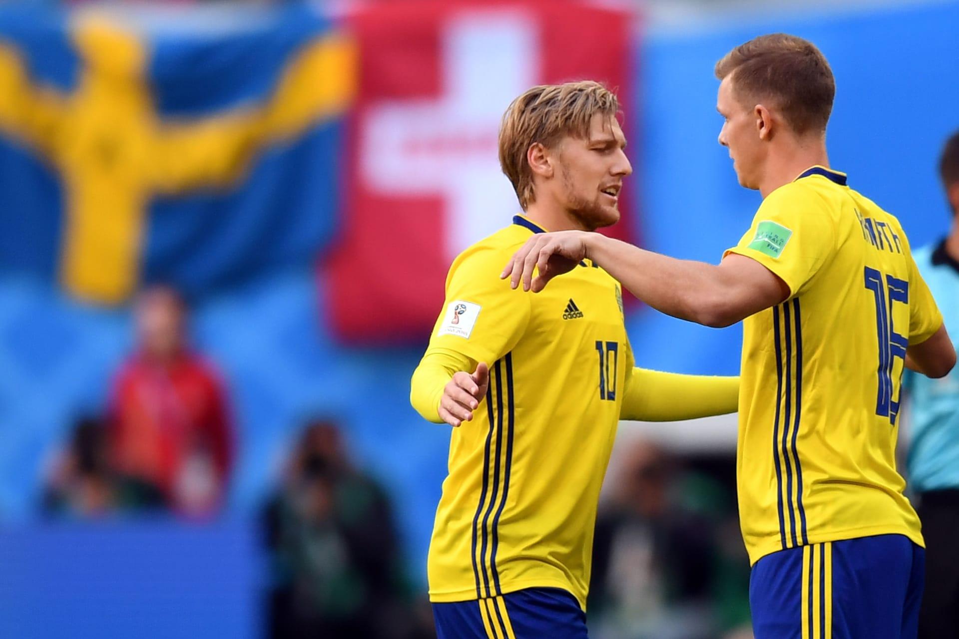 السويد تبلغ ربع النهائي للمرة الأولى منذ 24 عاما