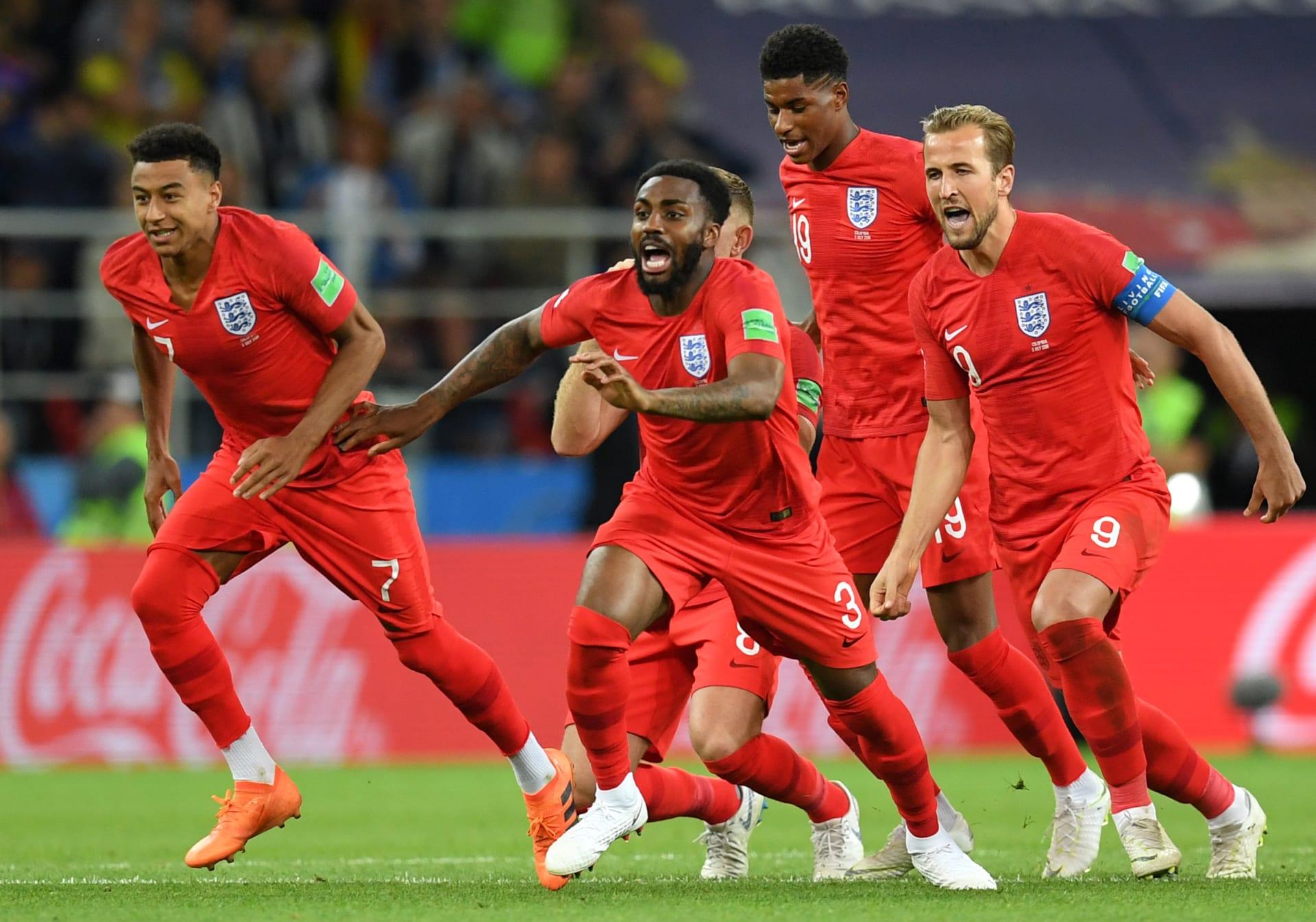 إنجلترا تكسر عقدة ركلات الترجيح وتبلغ ربع نهائي كأس العالم