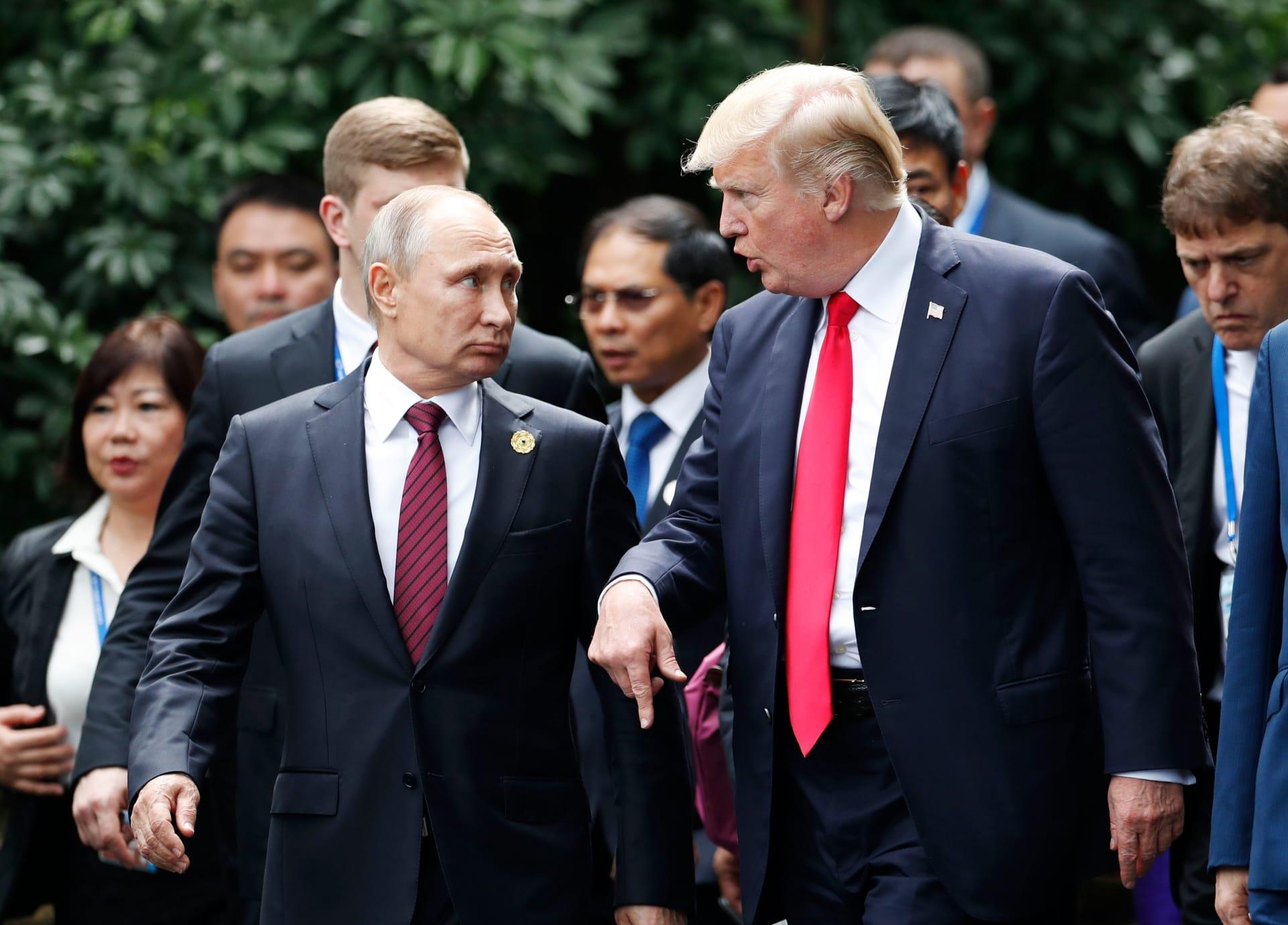 ما هي موضوعات النقاش في أول قمة بين بوتين وترامب؟