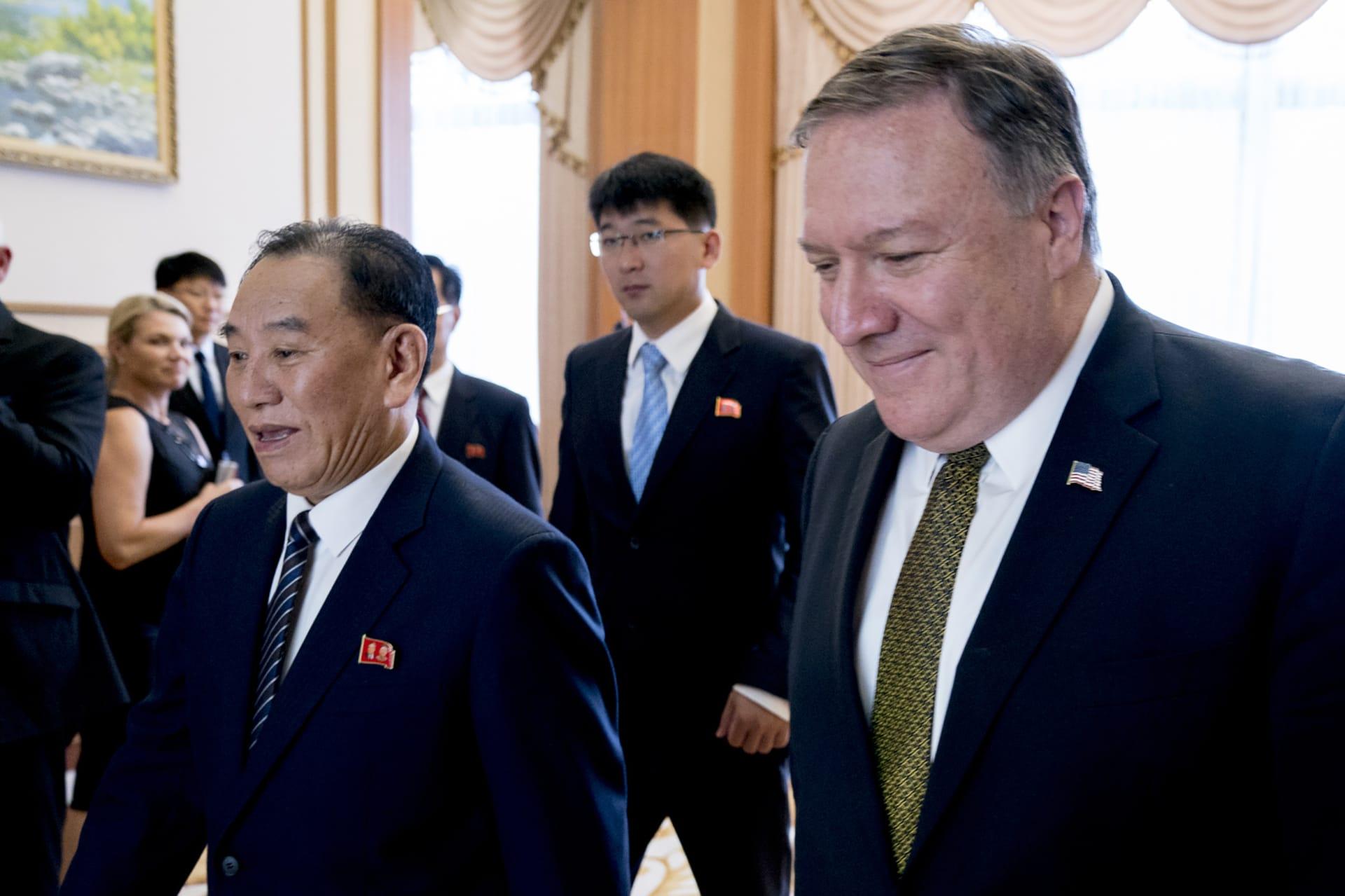 """كوريا الشمالية: الوفد الأمريكي طرح """"قضايا سرطانية"""" كادت تشعل حربا في الماضي"""