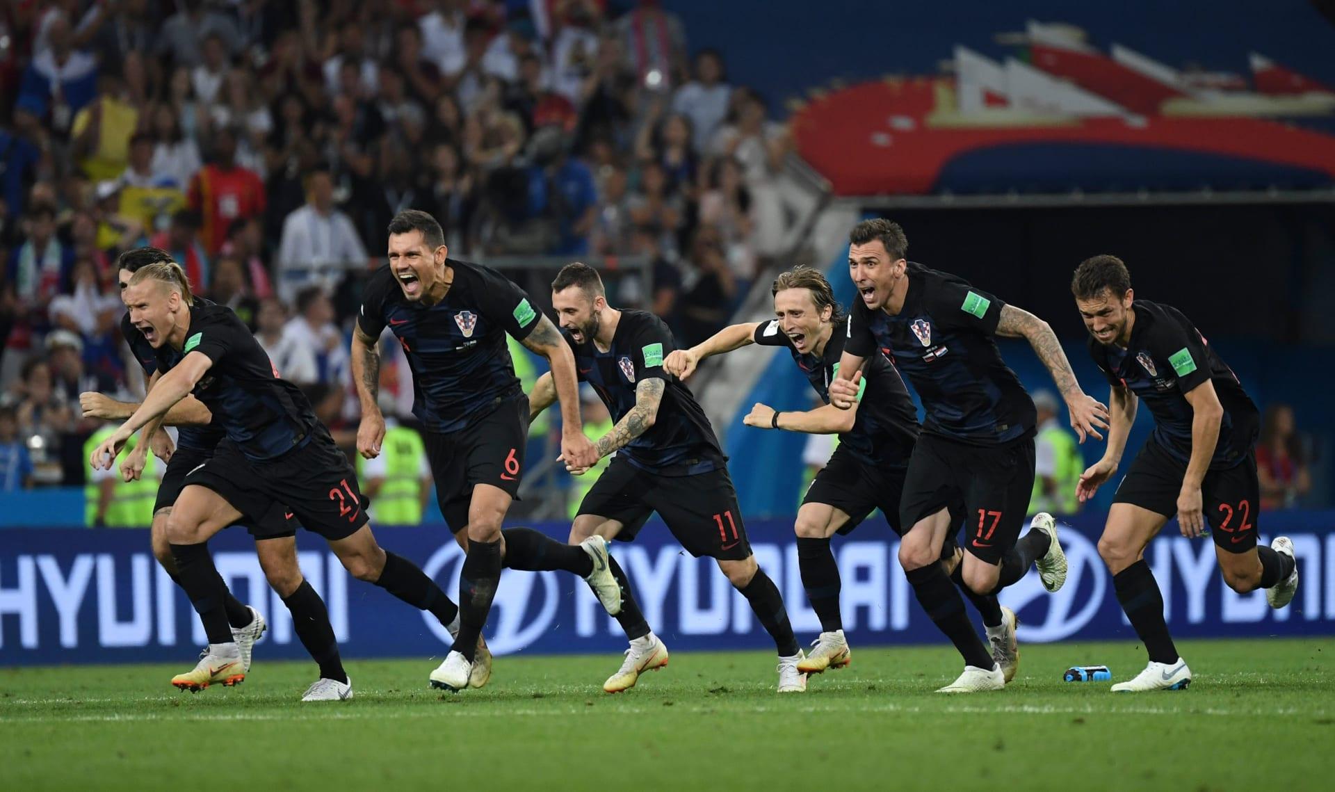 كرواتيا تقصي روسيا وتبلغ ربع النهائي للمرة الأولى منذ 20 عاما