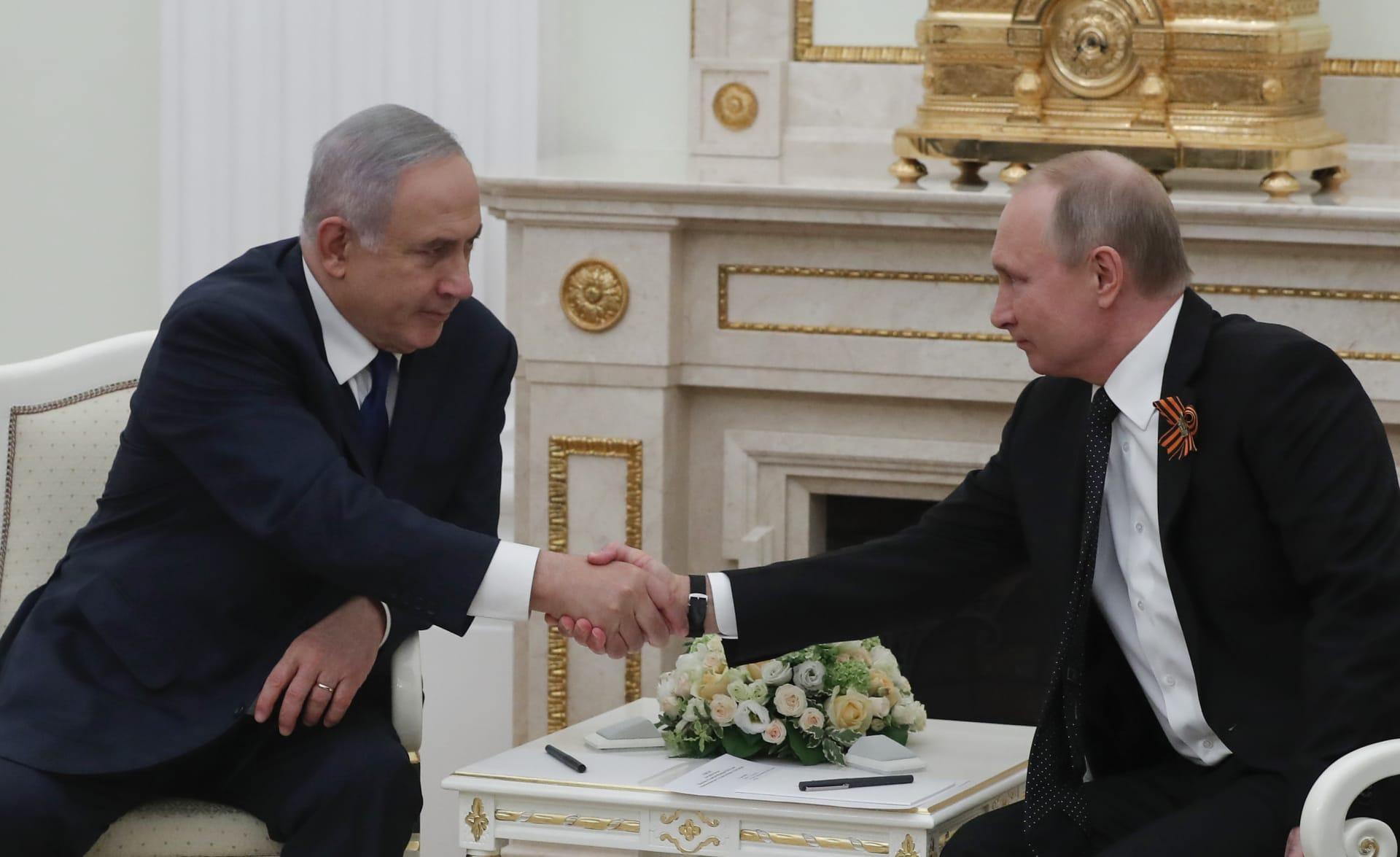 نتنياهو يكشف عن القضايا التي سيطرحها مع بوتين بشأن سوريا