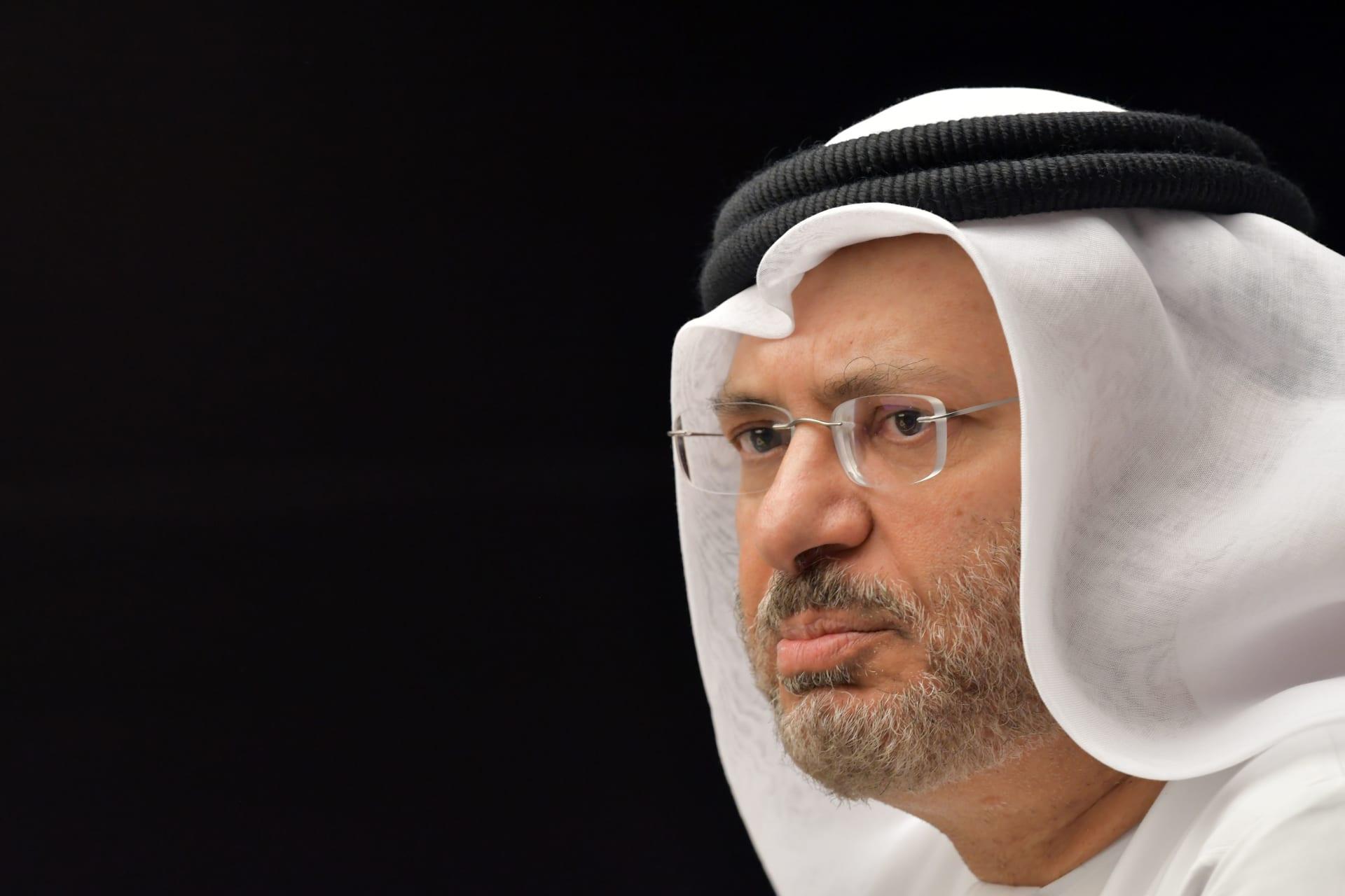 قرقاش: حملة تشويه تستهدف الإمارات لتحملها مسؤولية أمن المنطقة