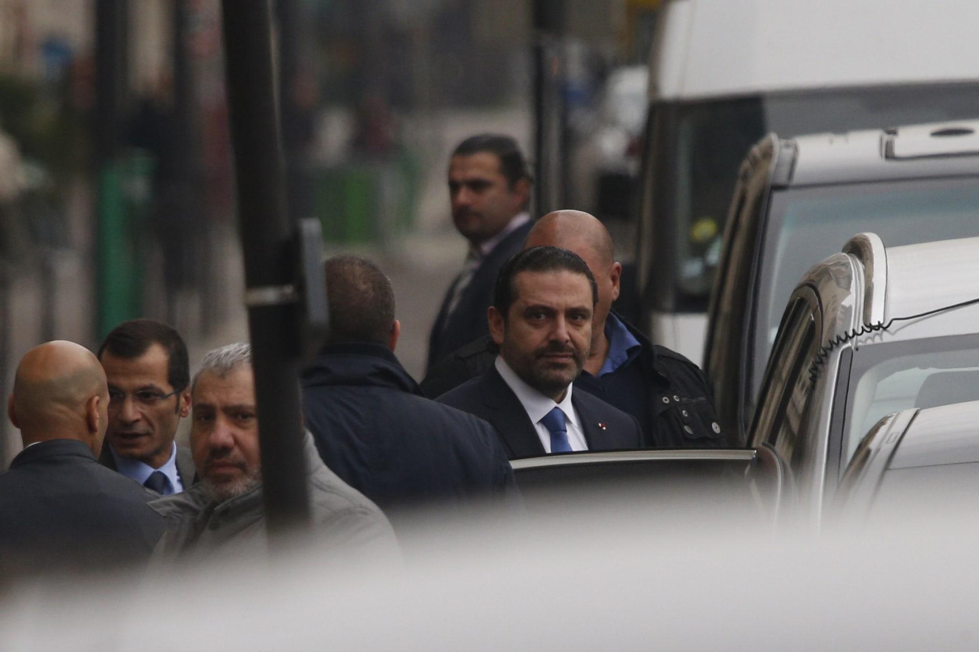 ماذا قال الحريري بعد احتجاز سيارة إسعاف بسبب مرور موكبه في بيروت؟