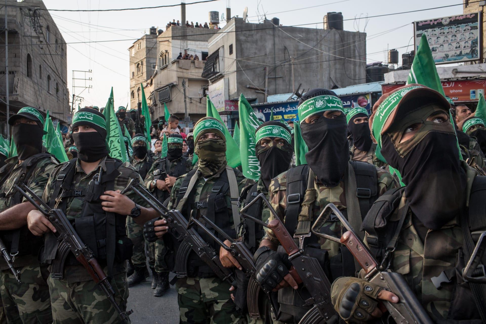 حماس تعلن مقتل 3 من عناصرها في قصف إسرائيلي