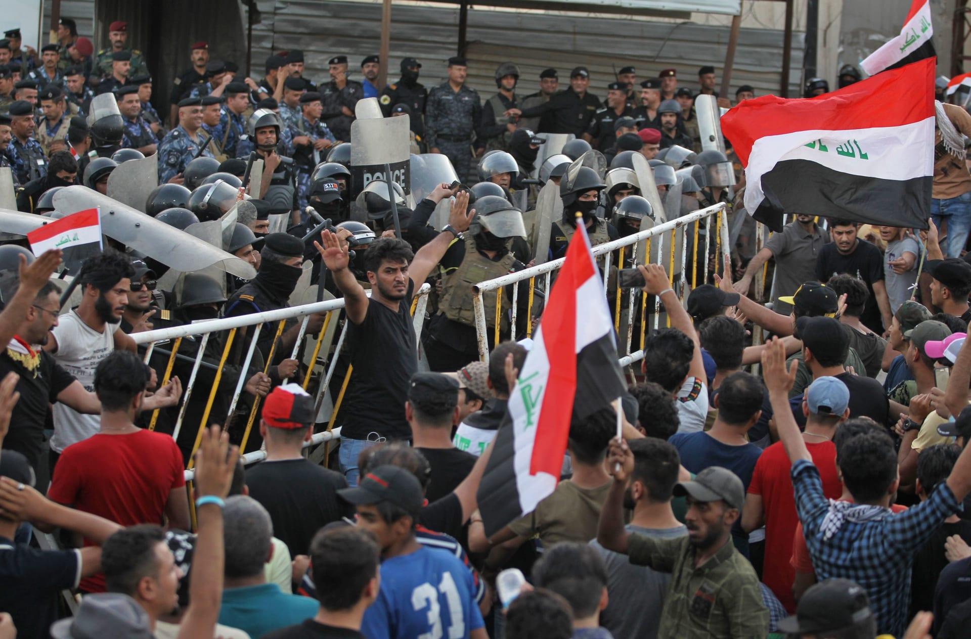 السيستاني يدعم مطالب المتظاهرين.. ويدعو لسرعة تشكيل الحكومة العراقية