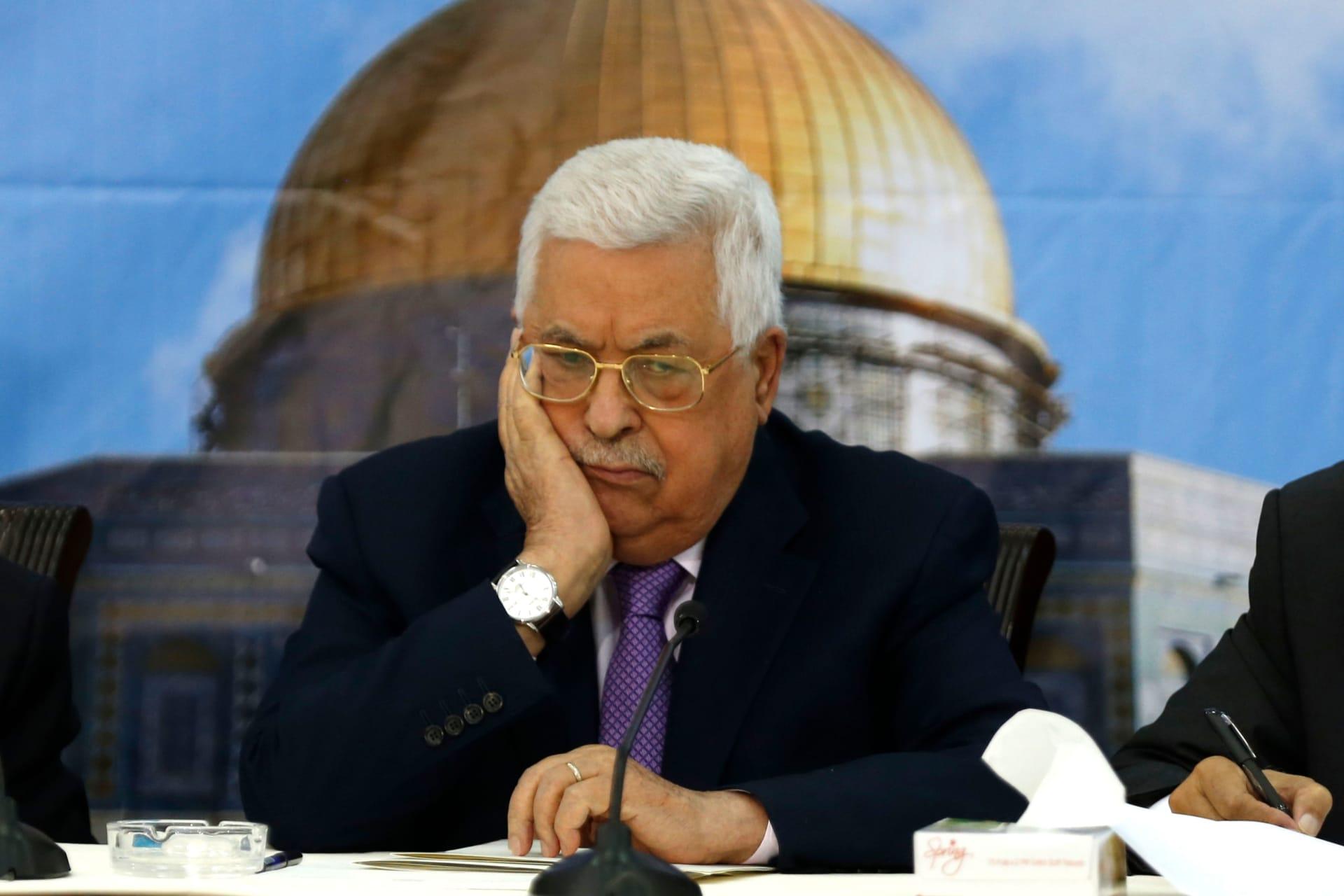 أبومازن مهاجما حماس: لا دولة في غزة ولا دولة من دونها