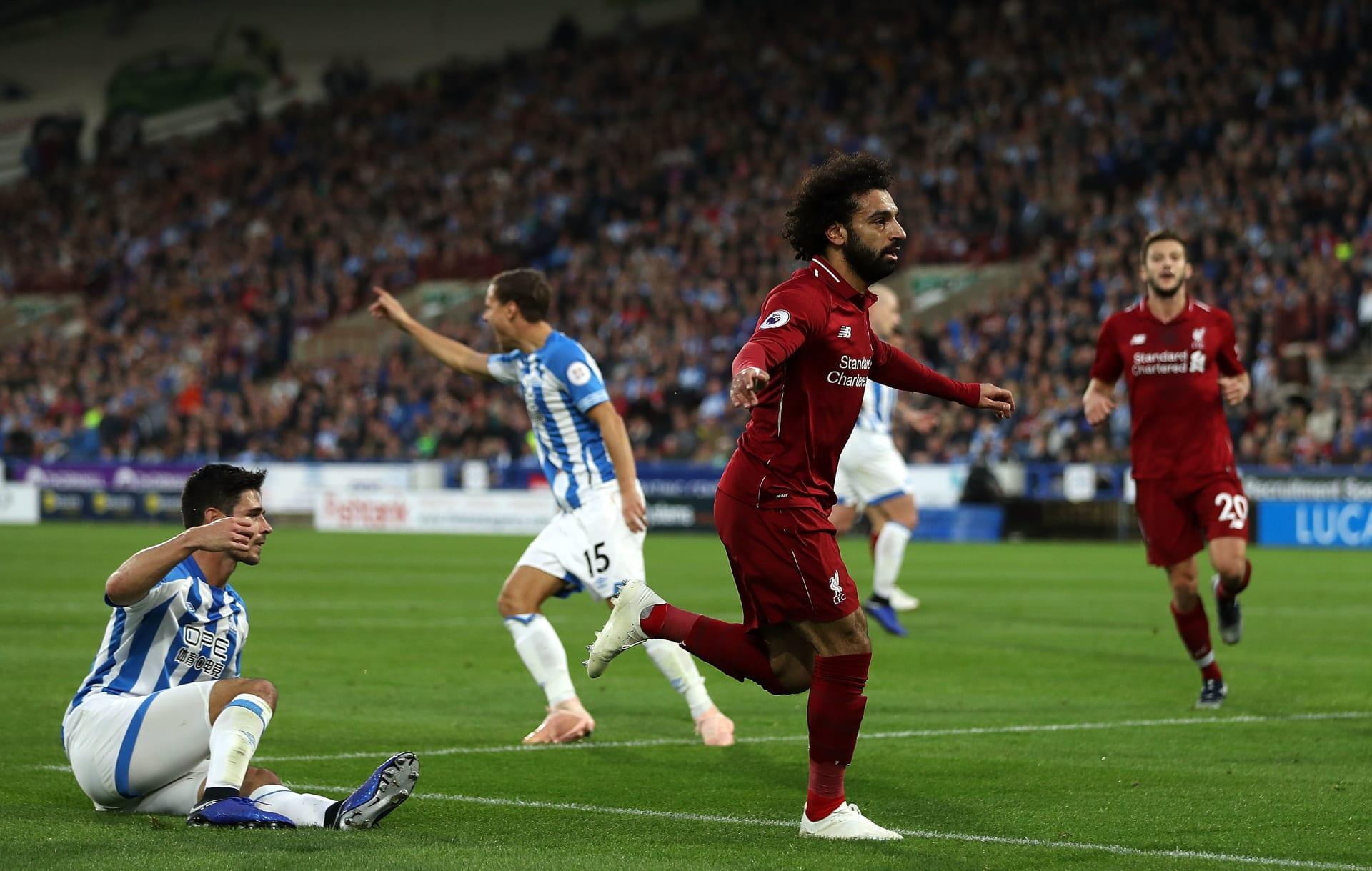 ماذا قال محمد صلاح بعد أن قاد ليفربول لفوز على هدرسفيلد؟