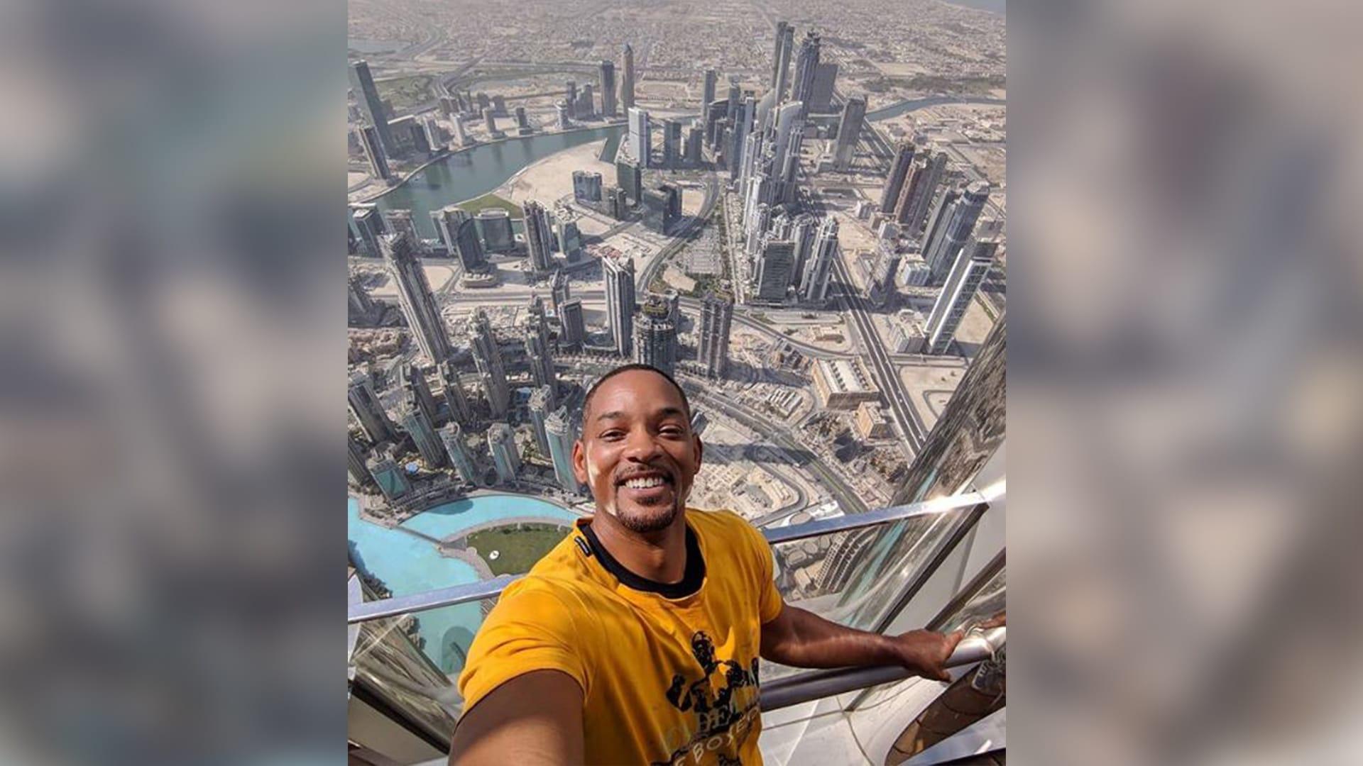 ما علاقة برج خليفة بأهرامات مصر؟ إليك آخر تعليق كتبه ويل سميث عن دبي