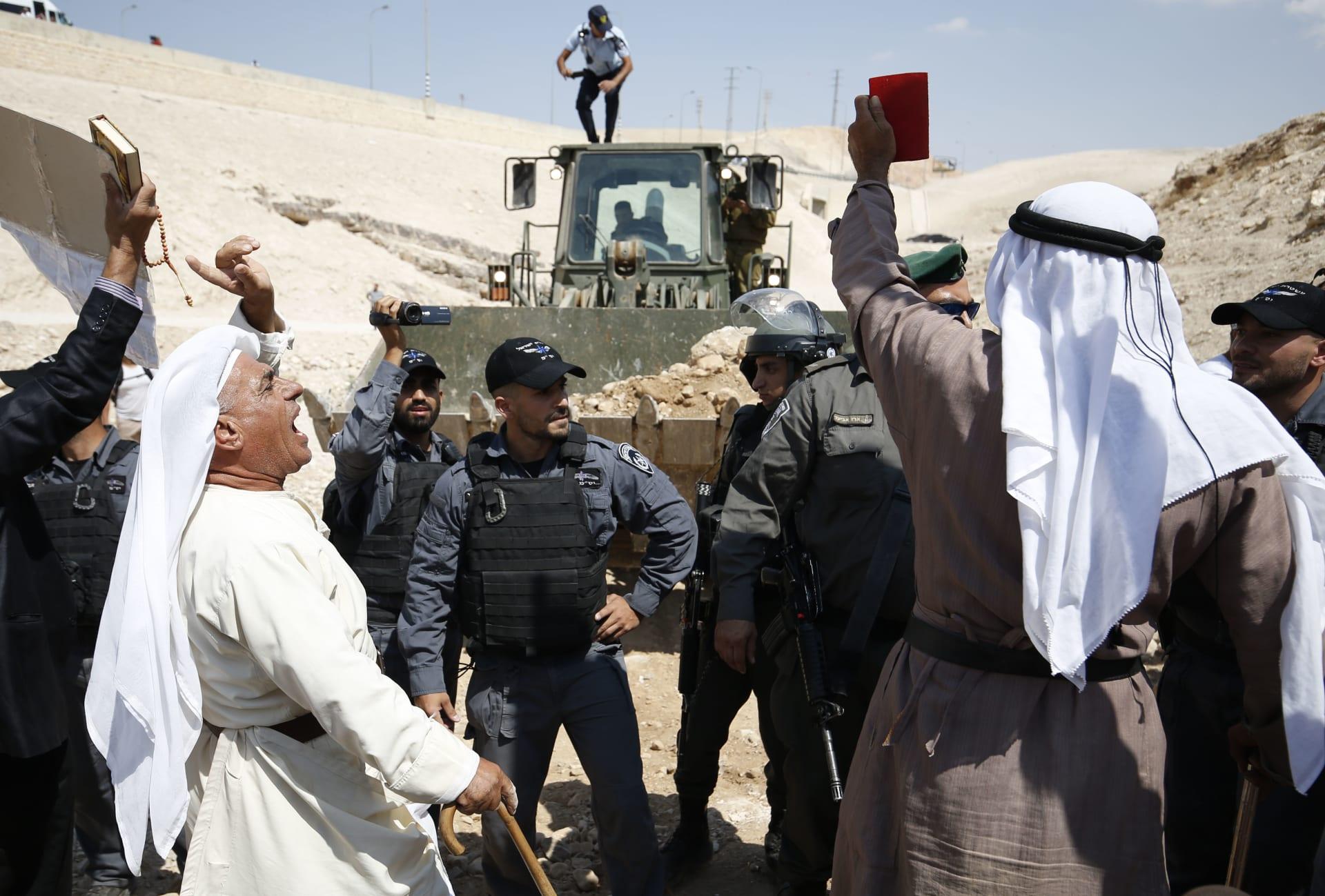 نتنياهو: سيتم إخلاء خان الأحمر.. هذه سياستنا وستنفذ