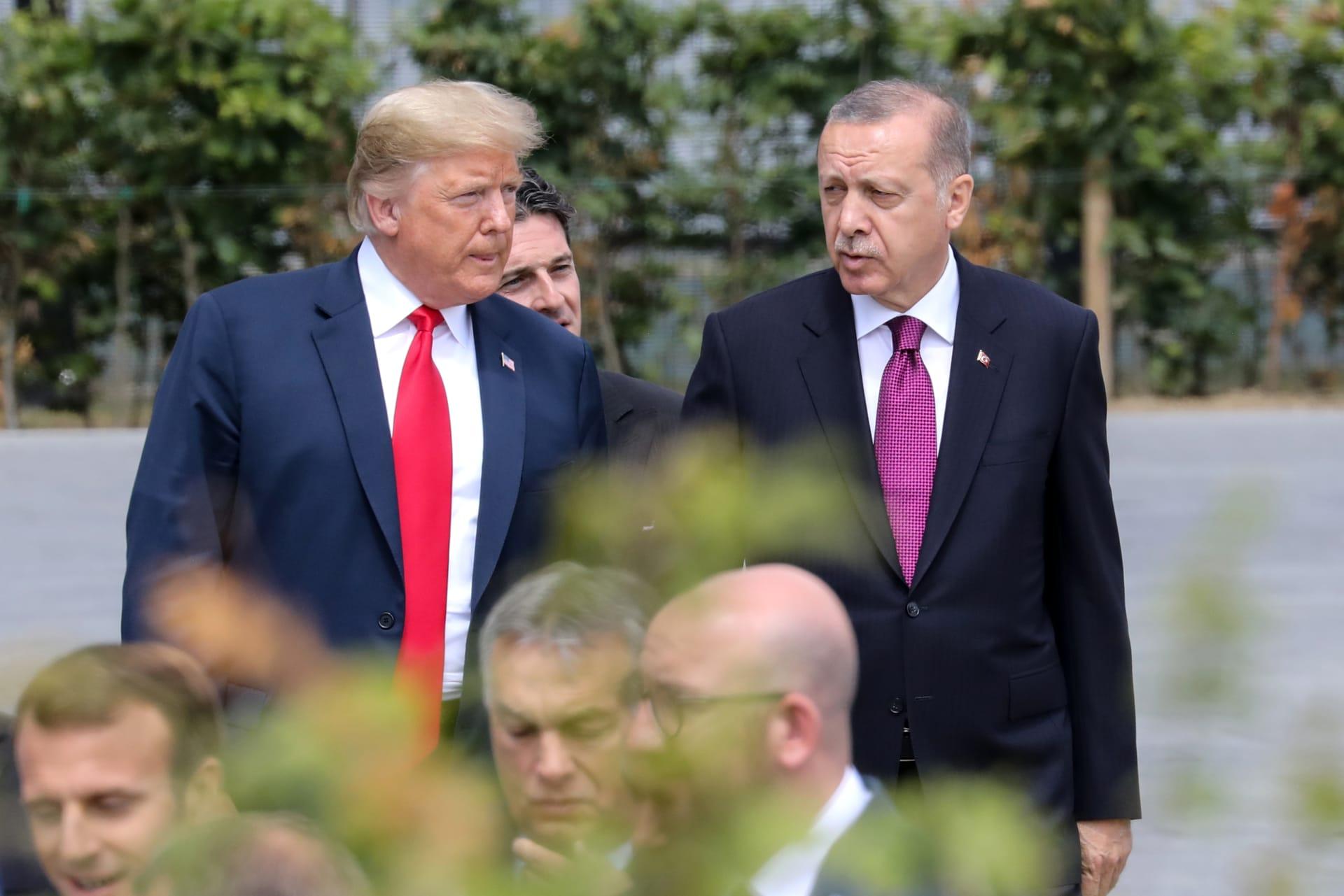 قبل أن تعلن تركيا التفاصيل.. أردوغان وترامب يناقشان قضية خاشقجي
