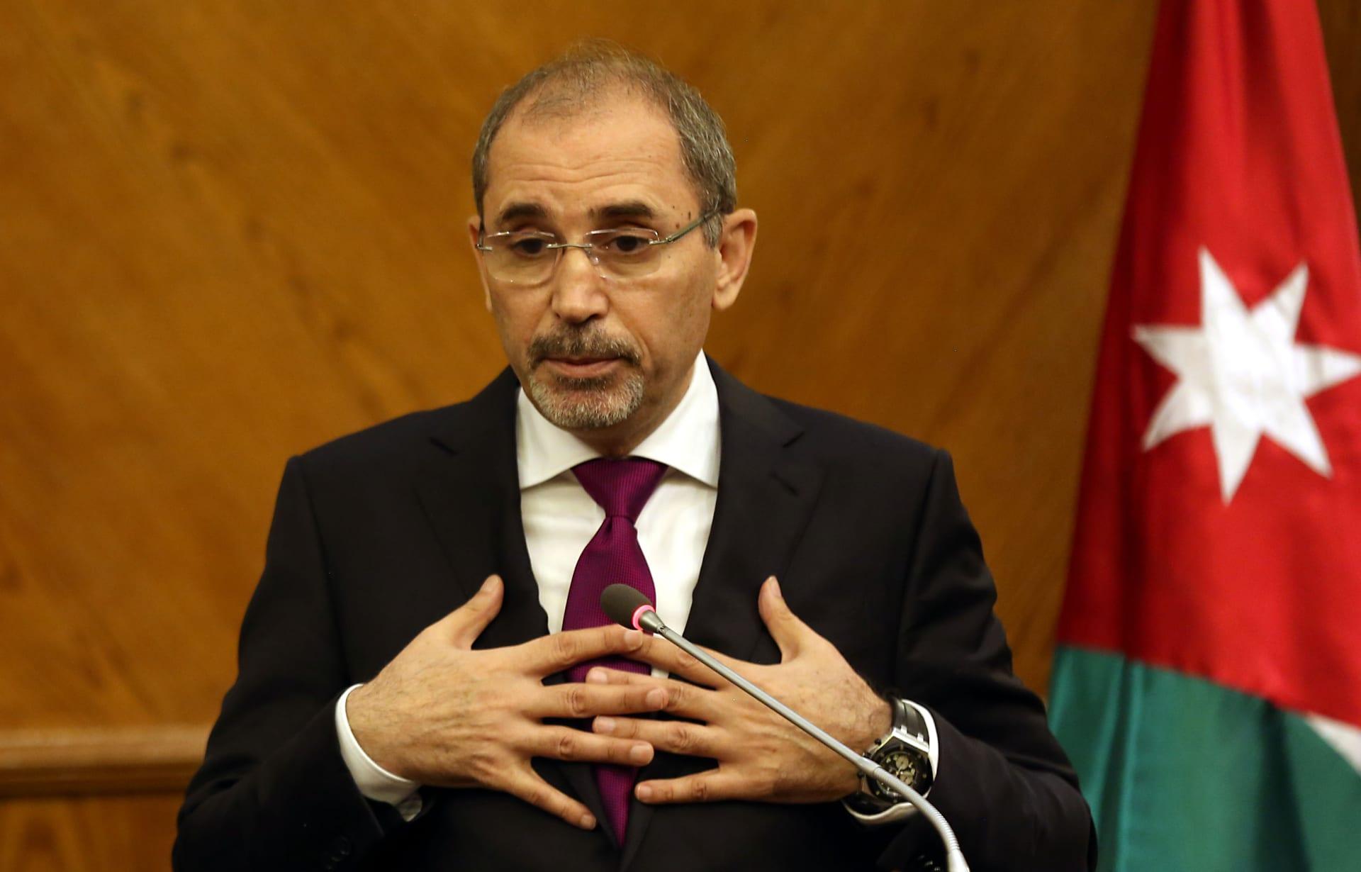 وزير الخارجية الأردني: لم تطلب إسرائيل التشاور في إنهاء ملحقي الباقورة والغمر