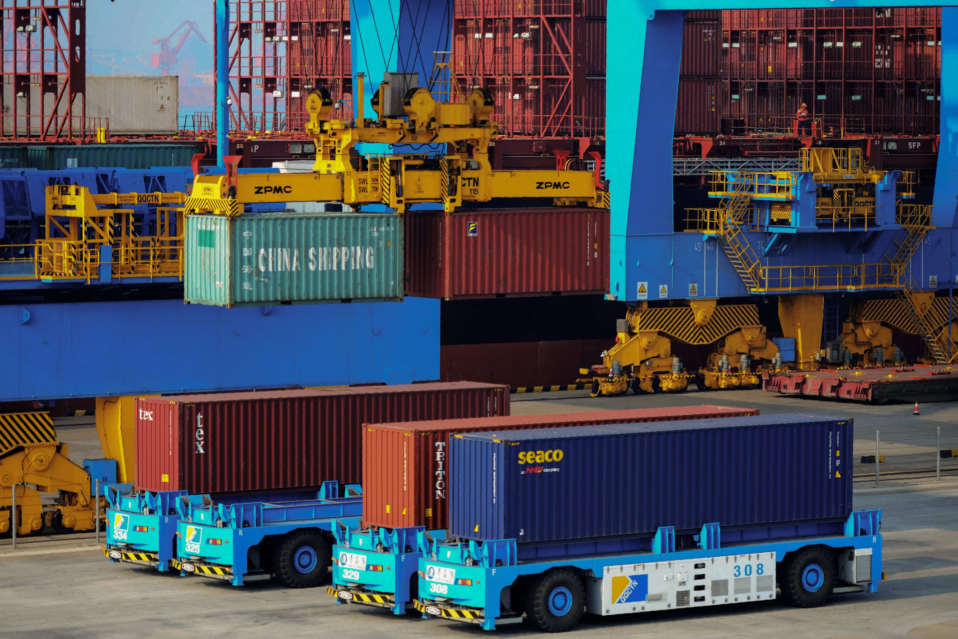 تجارة الصين مع دول الحزام والطريق تتجاوز 5.5 تريليون دولار