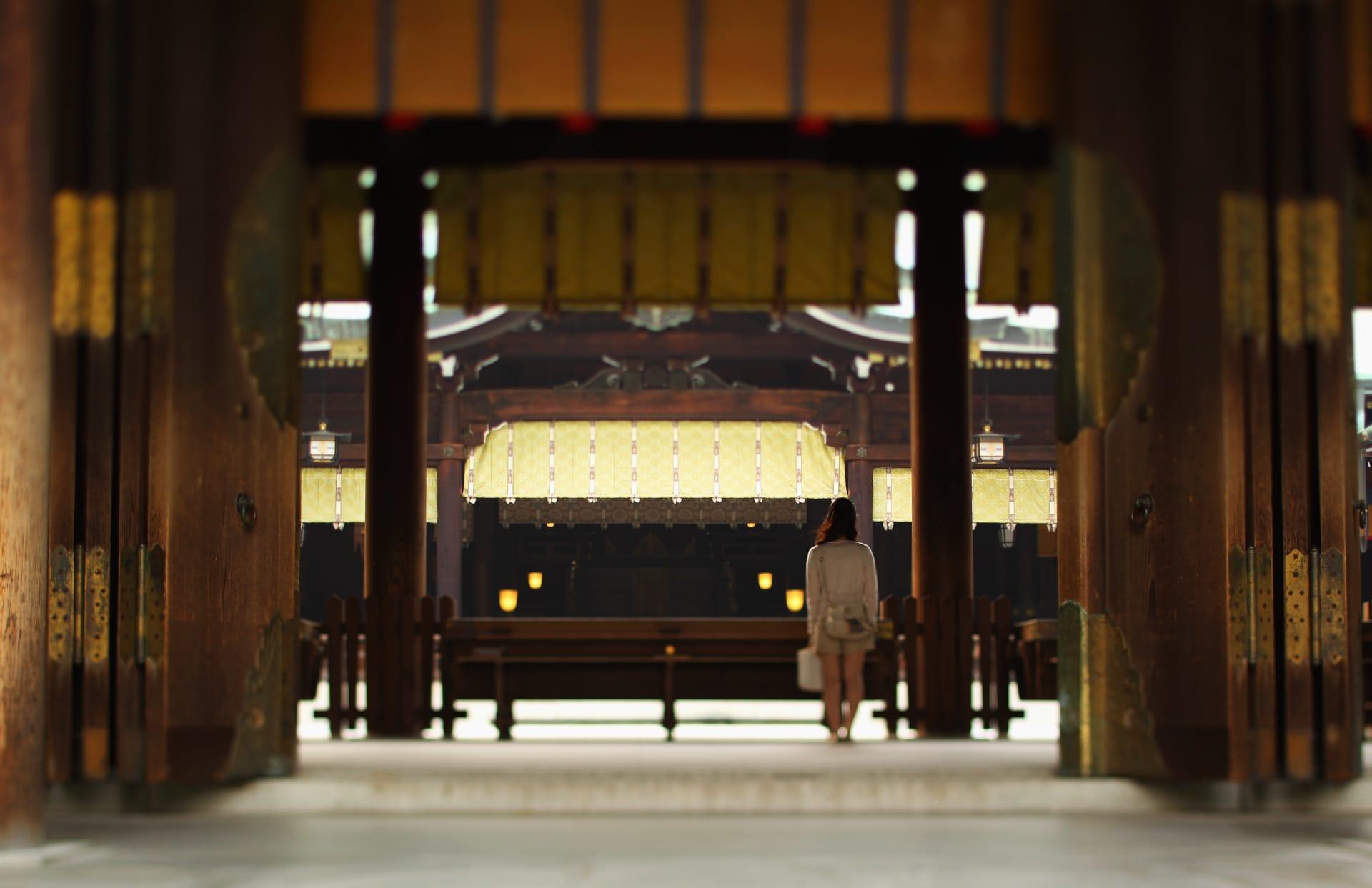 ضريح ميجي في اليابان.. موقع زفاف يليق بأميرة