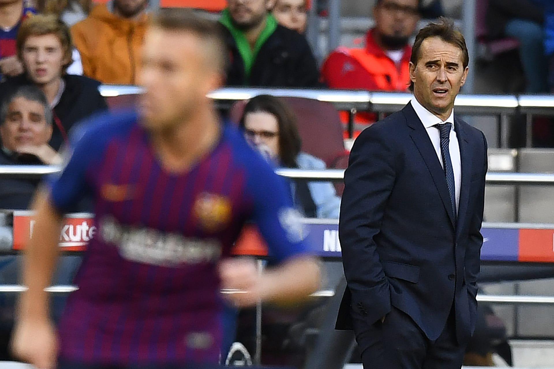 """أول ضحايا """"كلاسيكو الخمسة"""".. ريال مدريد يقيل لوبتيغي ويعين سولاري"""