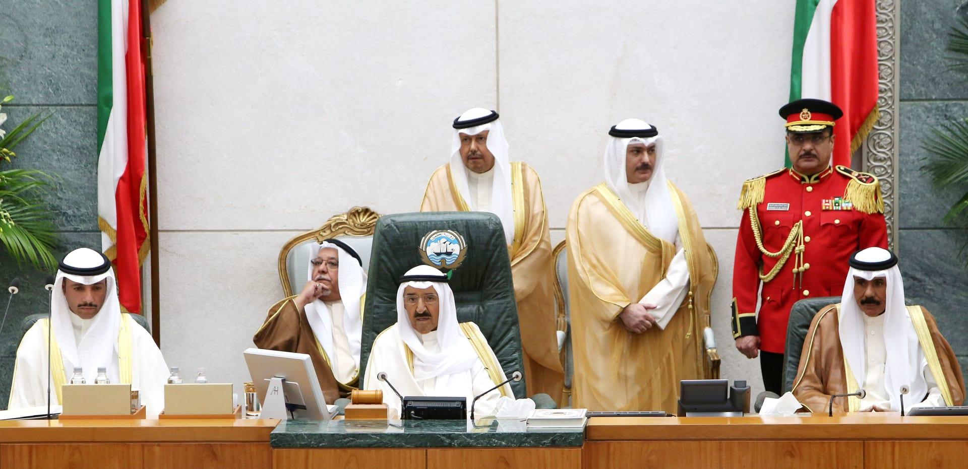أمير الكويت: التنمیة واستقرار الاقتصاد أساس مواجھة التحدیات