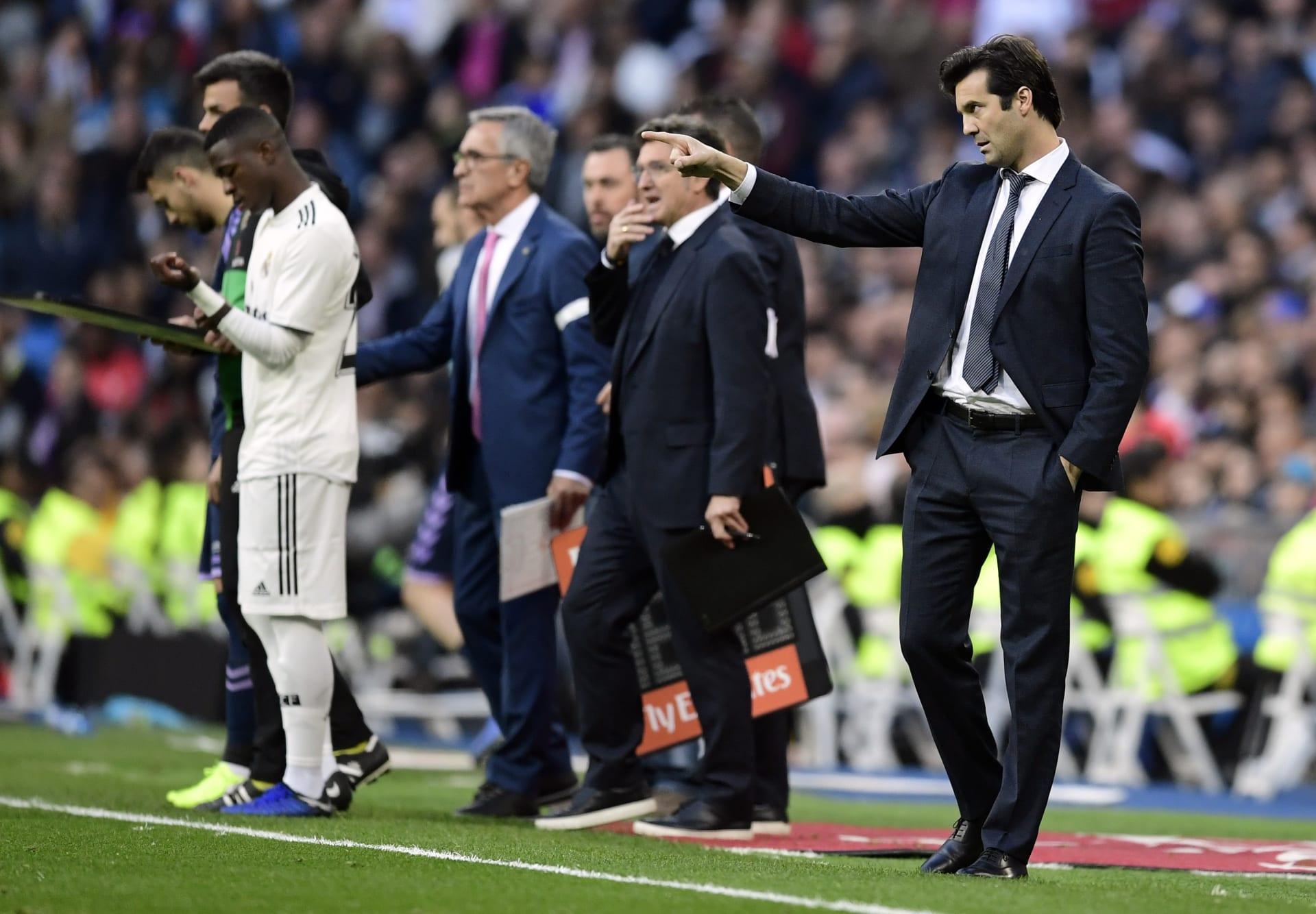 """أول مباراة لسولاري في الدوري.. فوز """"قاتل"""" لريال مدريد على بلد الوليد"""