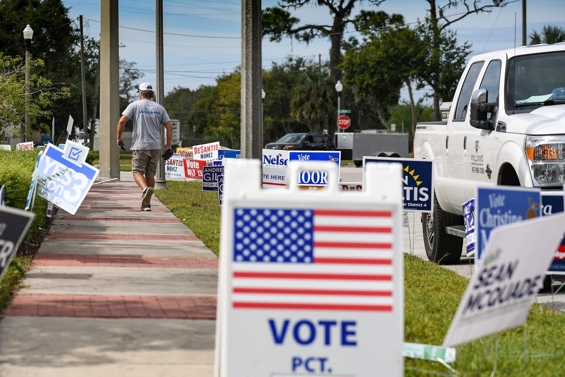 إقبال كبير على التصويت المبكر في انتخابات التجديد النصفي بأمريكا