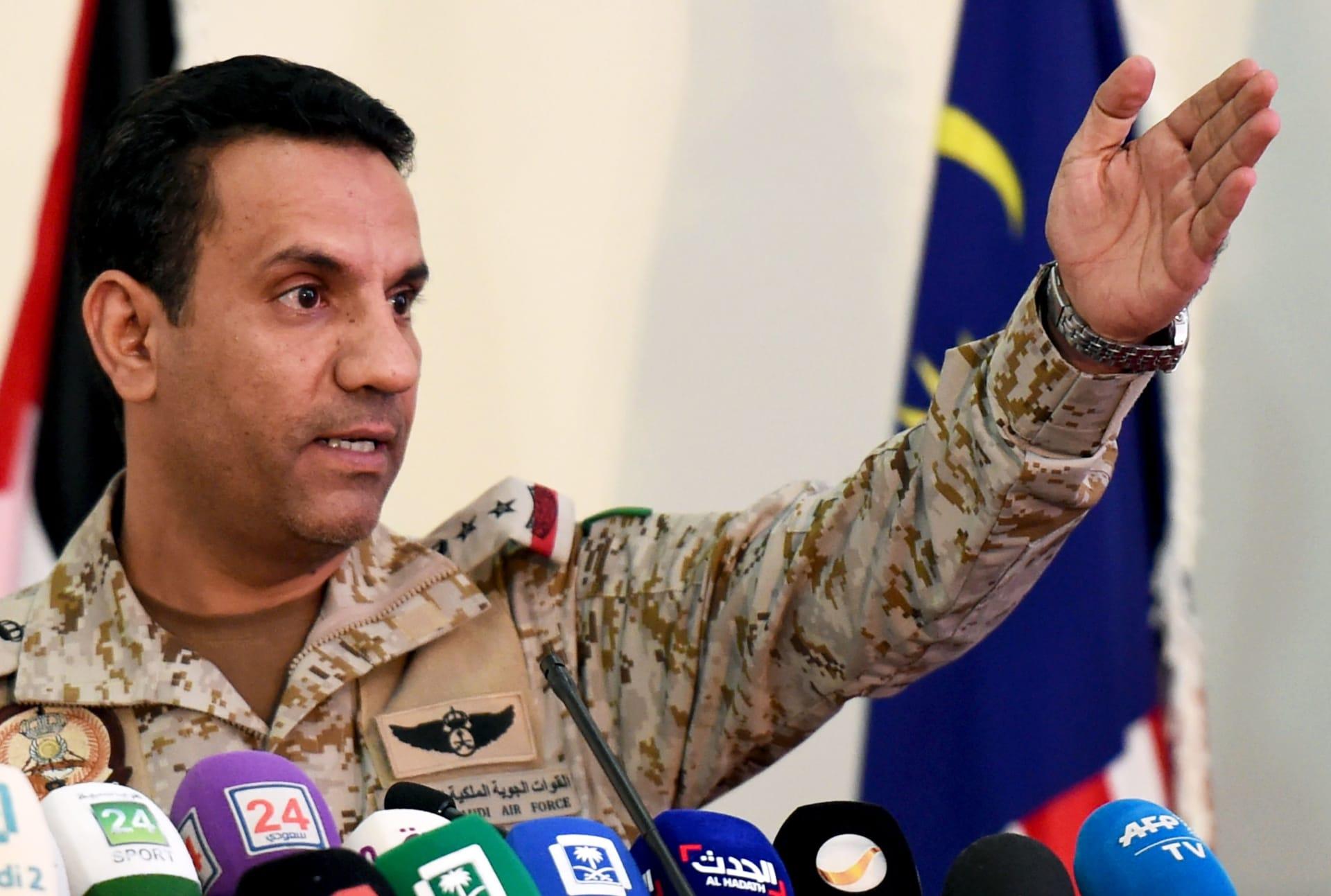 المتحدث باسم التحالف: الحوثيون يزرعون الألغام البحرية عشوائيا